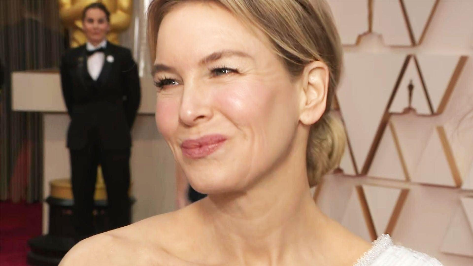 Renee Zellweger Shines at 2020 Oscars in Elegant One