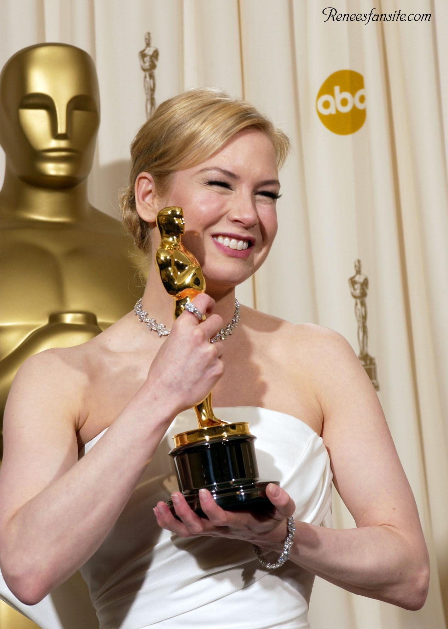 RENEE ZELLWEGER won an Oscar for Best Actress in the film Cold