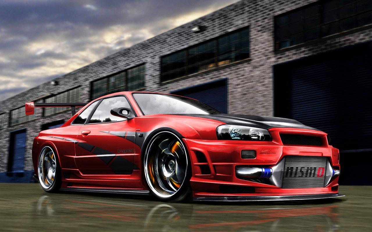 Skyline Cool Cars Wallpapers - Wallpaper Cave