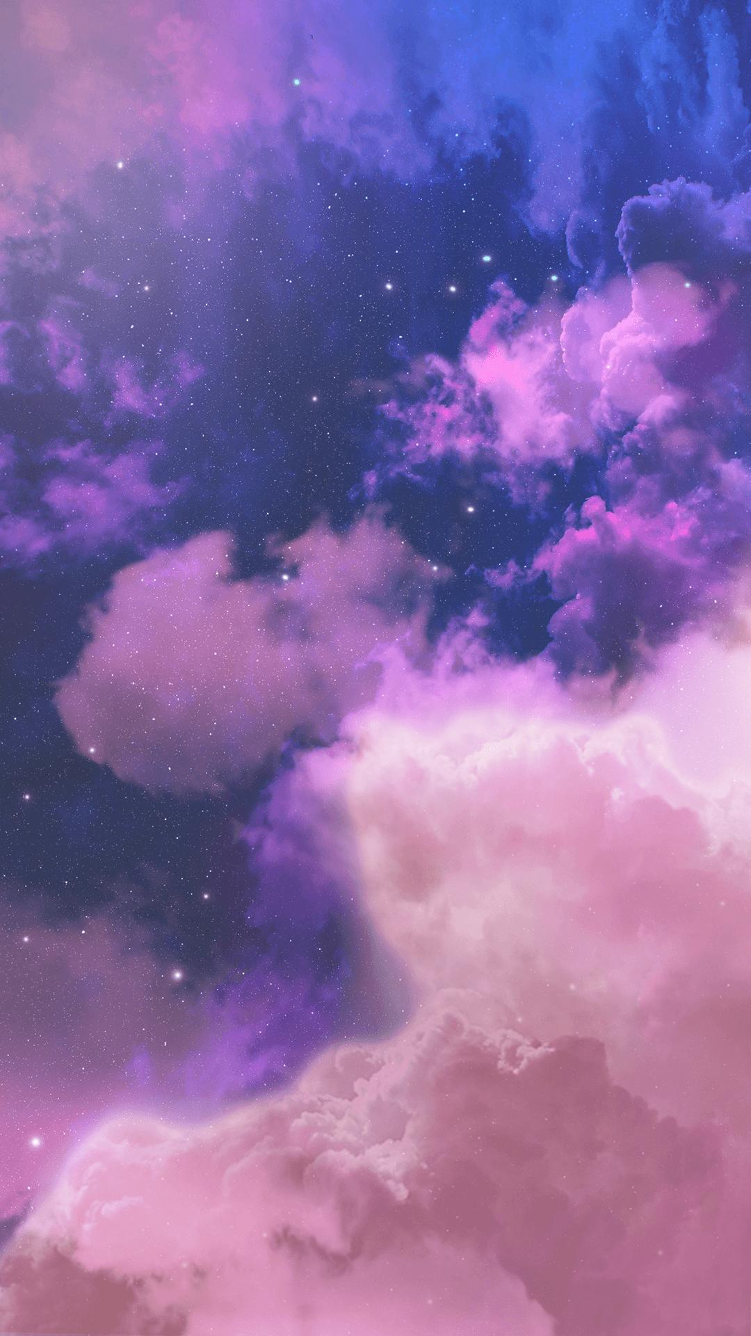 Aesthetic Purple Cloud Wallpapers Wallpaper Cave