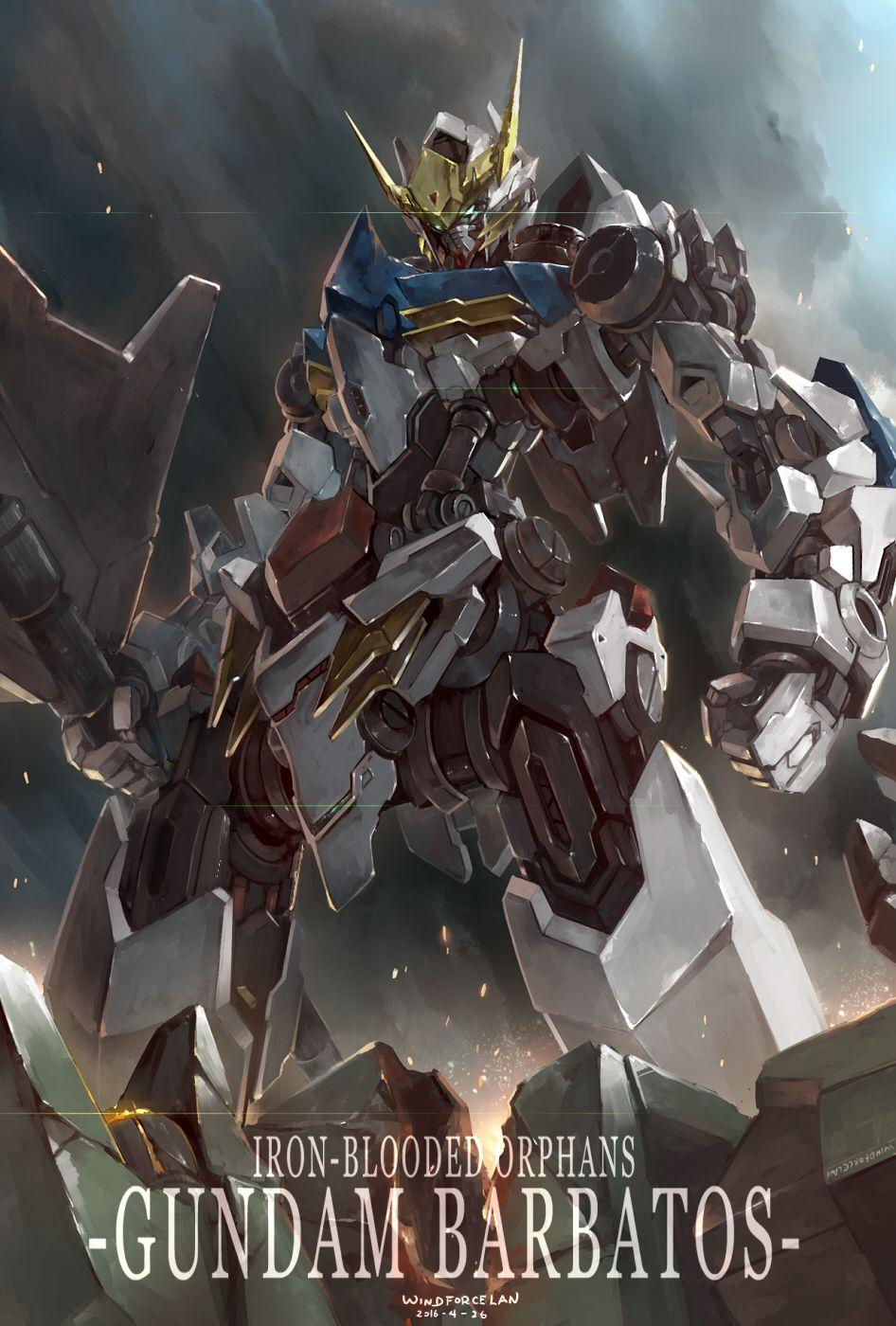 Gundam Barbatos Android Wallpapers Wallpaper Cave