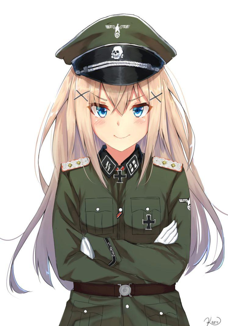 Military Uniform Girl Anime Wallpapers - Wallpaper Cave
