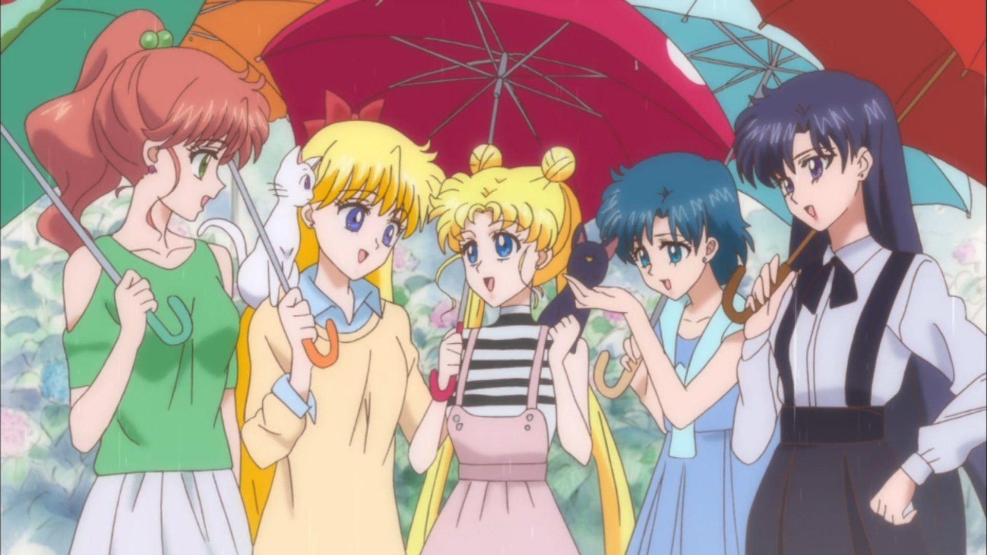 Aesthetic Sailor Moon Laptop Wallpapers Wallpaper Cave