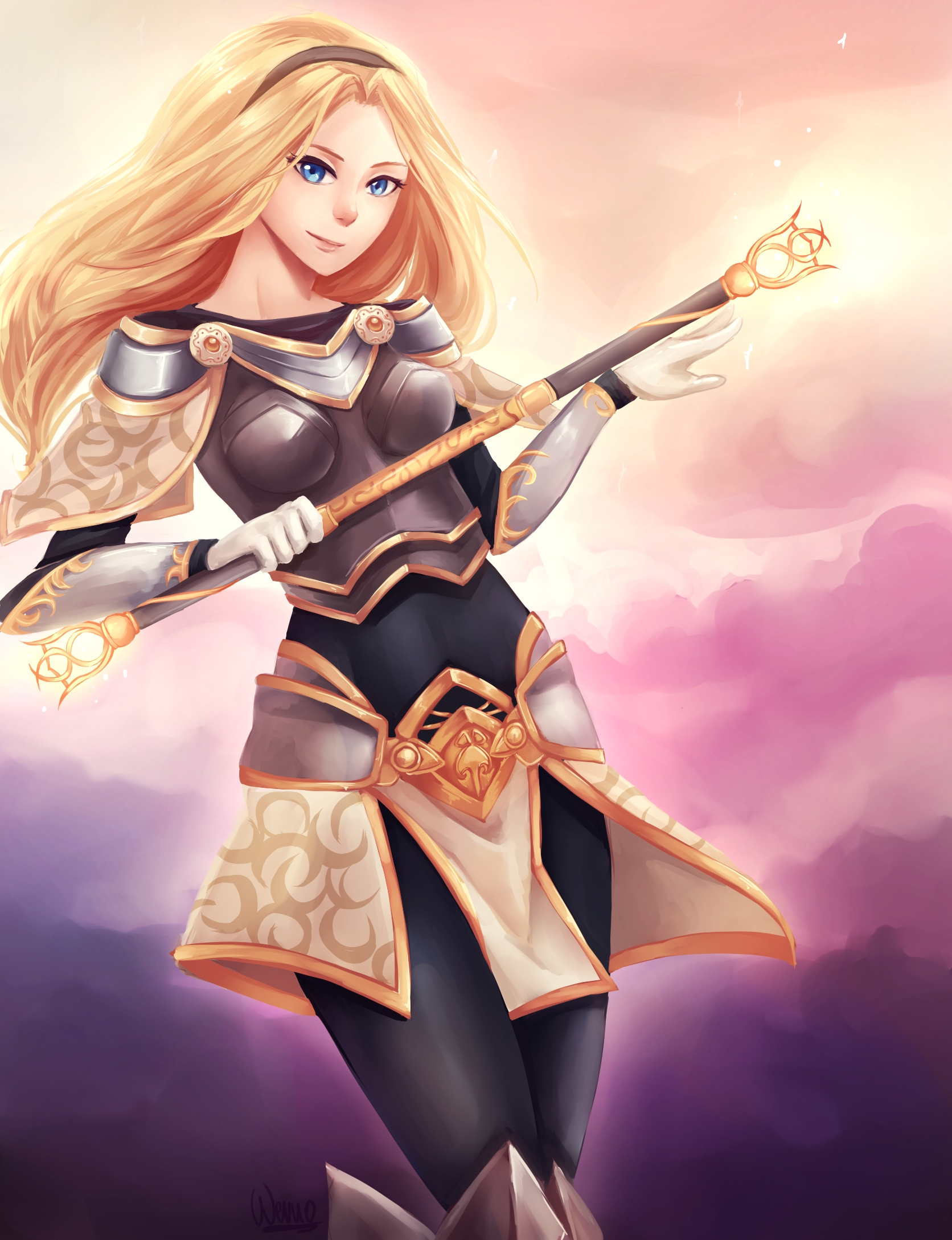 League Of Legends Lux Wallpapers Wallpaper Cave