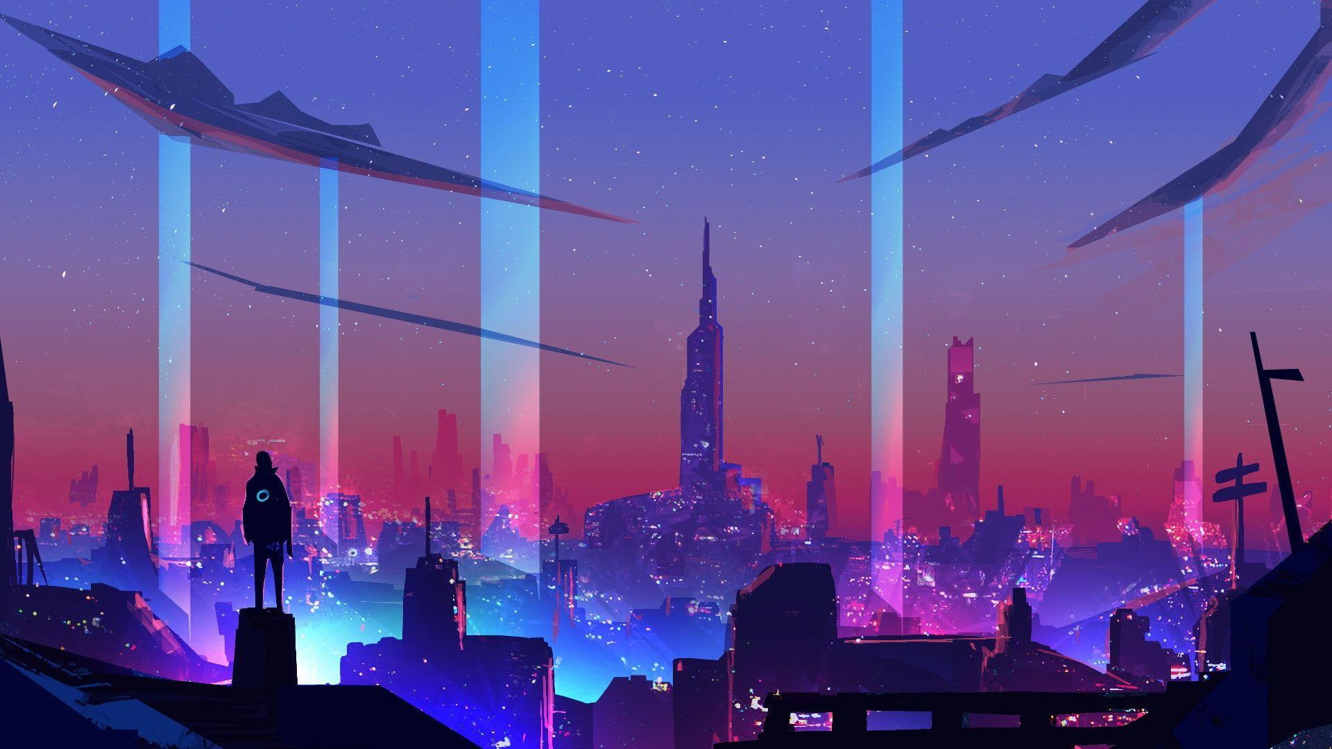 Desktop Cyberpunk Wallpapers - Wallpaper Cave