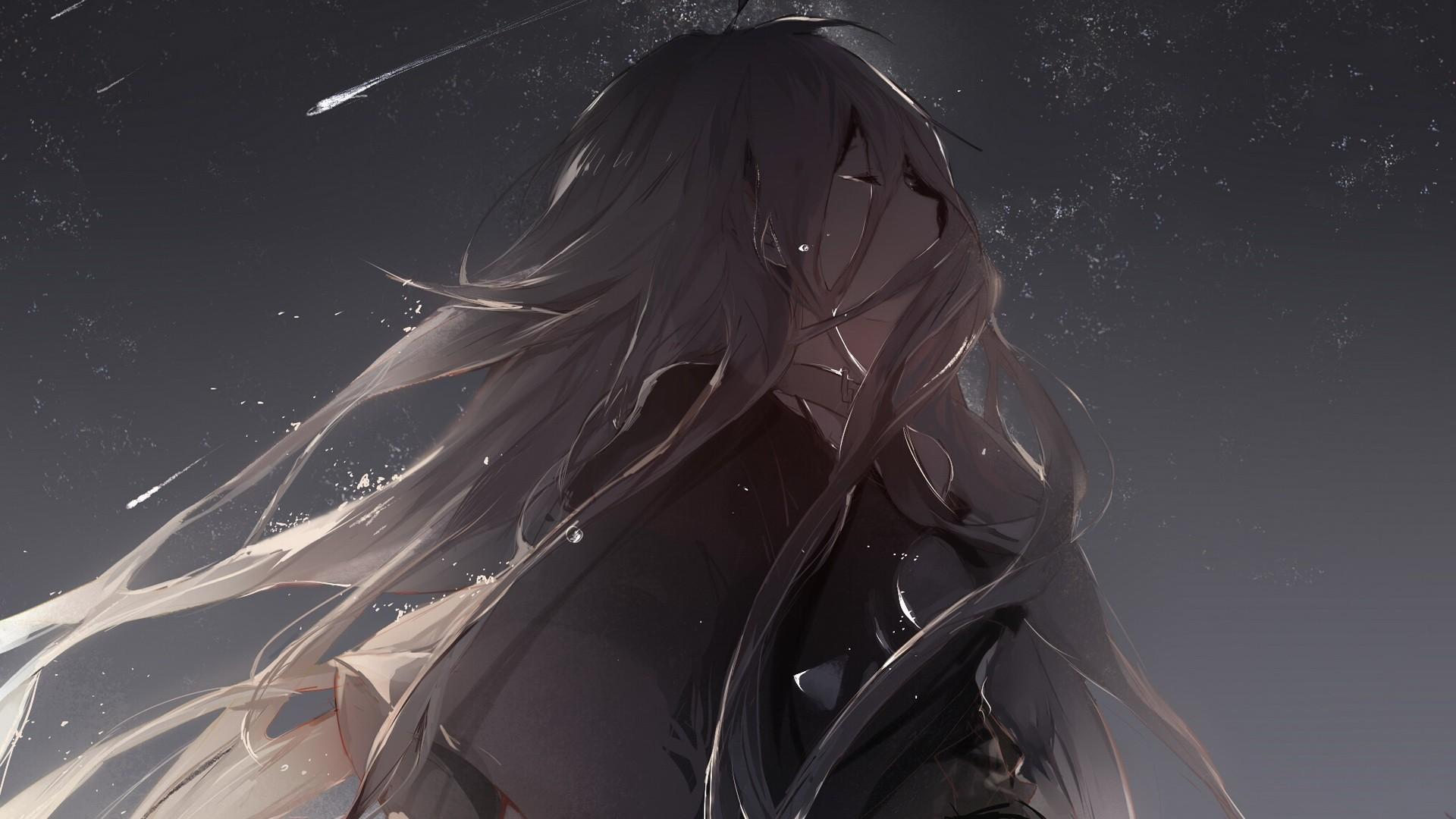 11+ Rain Sad Anime Wallpaper 4K Images