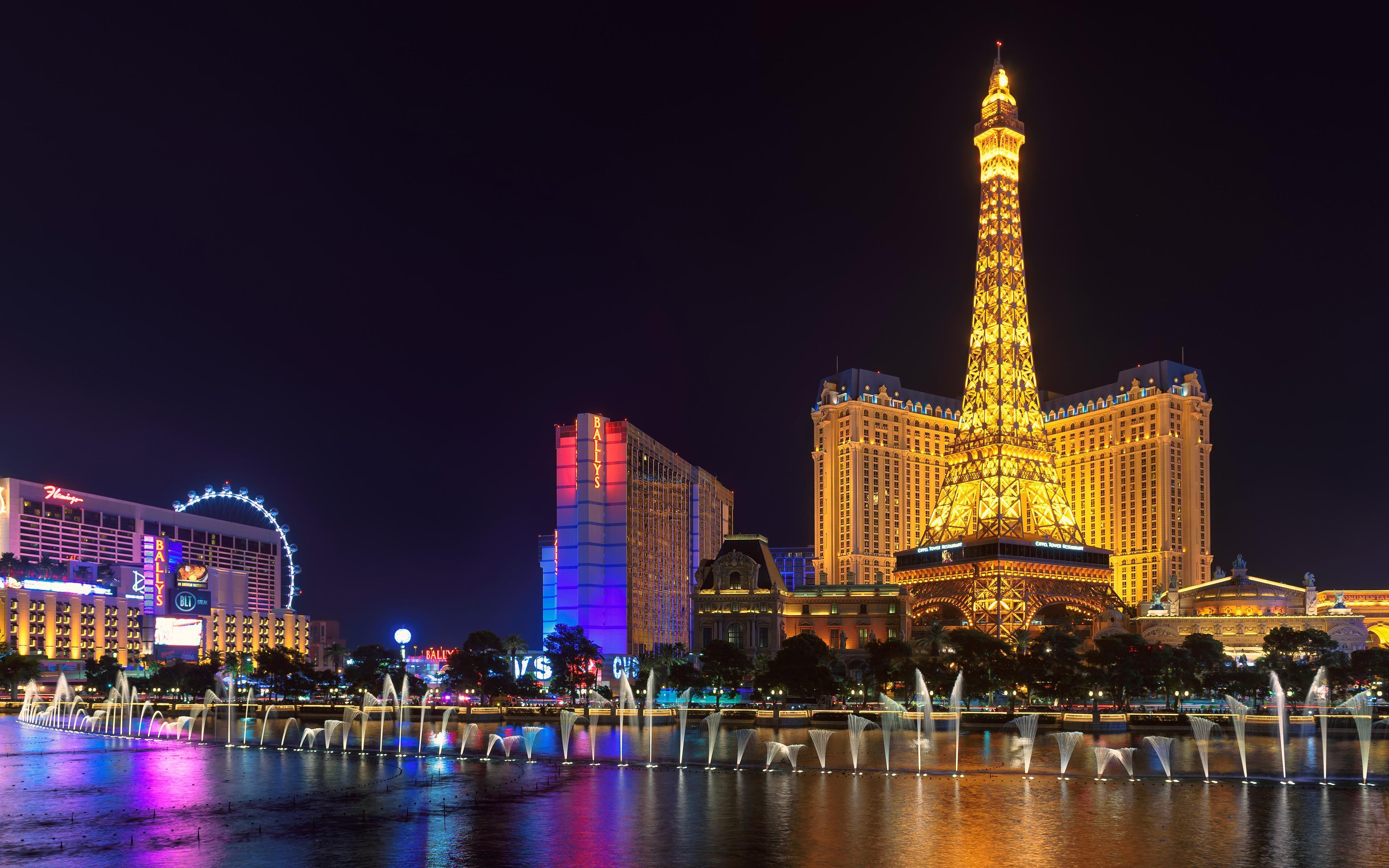 Eiffel Tower Las Vegas Wallpapers Wallpaper Cave