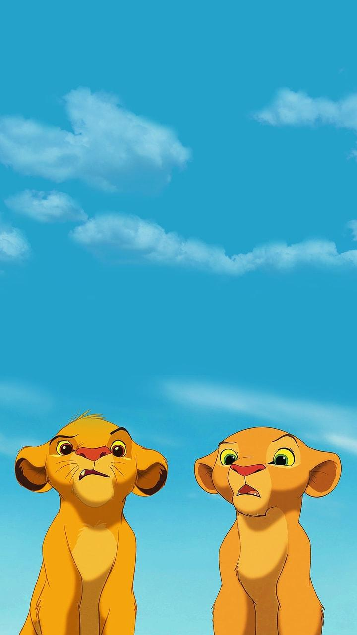 Simba & Nala discovered by @MarvelousGirl94