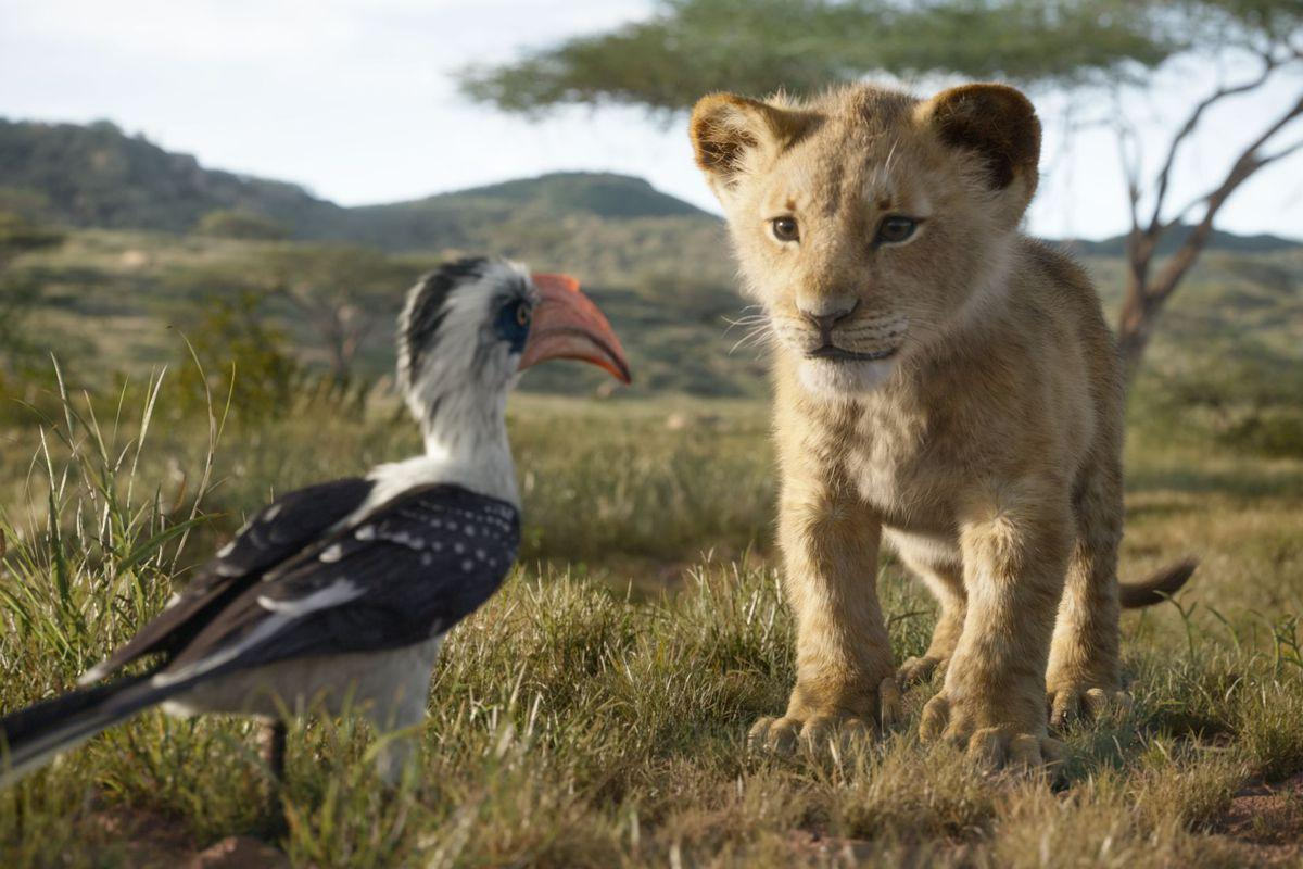 Is Disney's new Lion King remake live