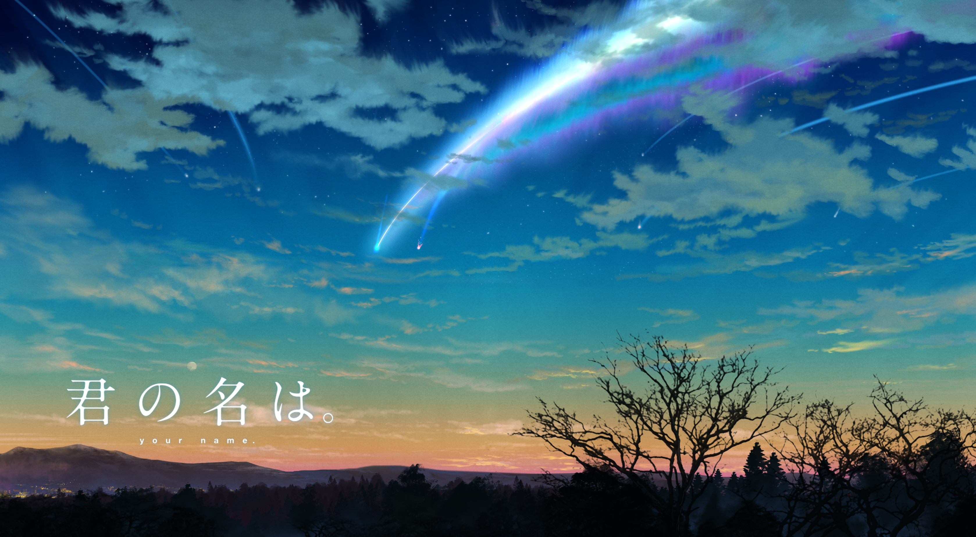 Hd 4k Anime Your Name Wallpapers Wallpaper Cave