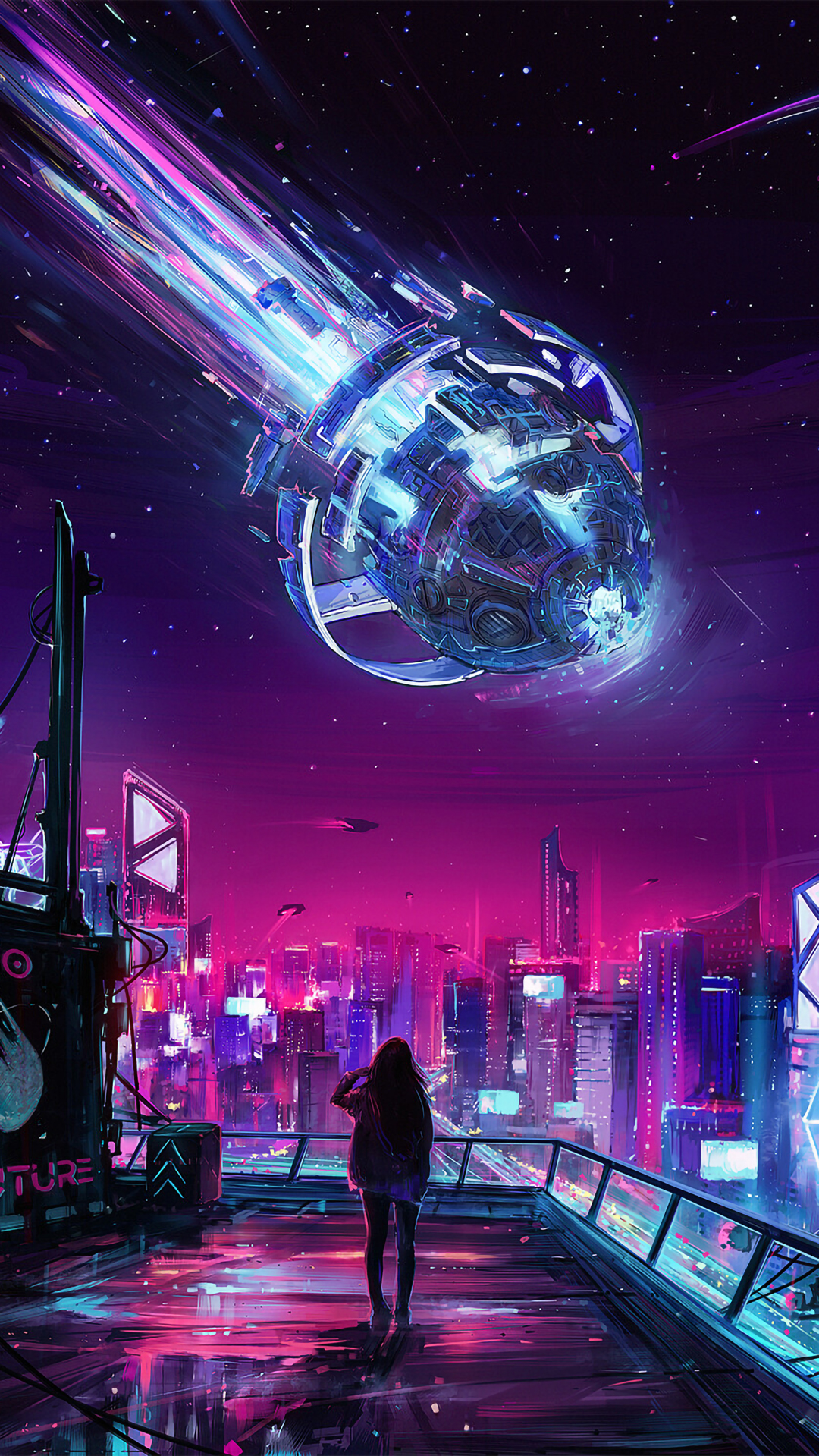 Aesthetic Cyberpunk Wallpapers - Wallpaper Cave