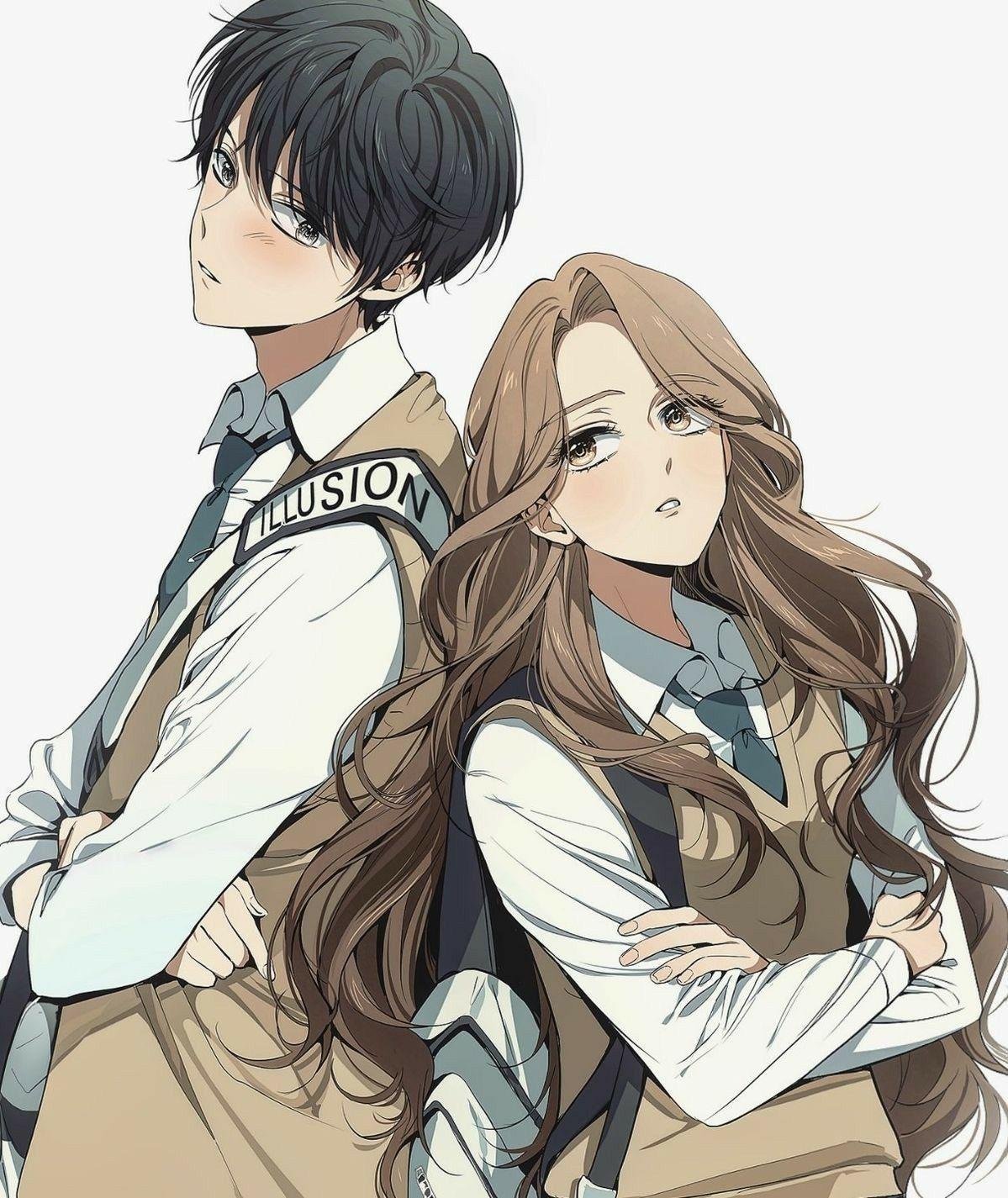 Hug Anime Couple Wallpapers - Wallpaper Cave