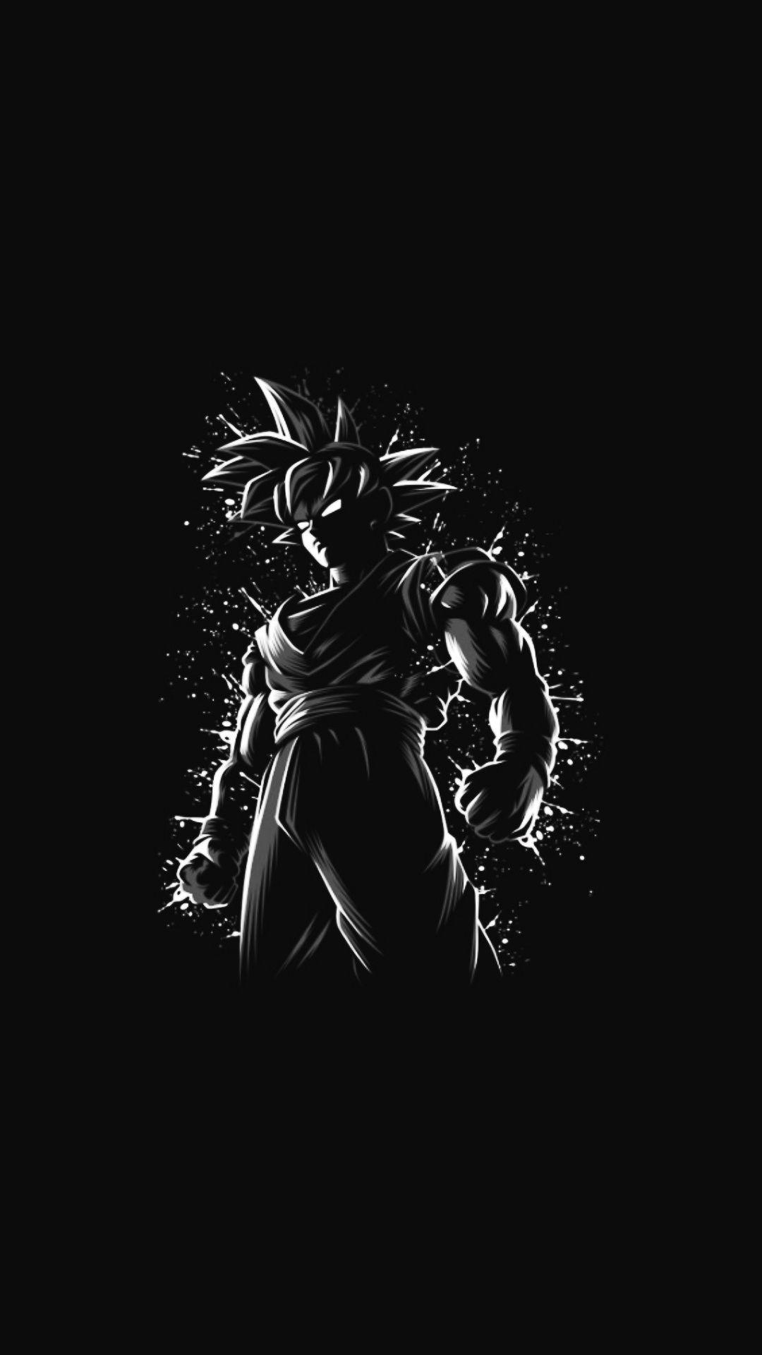 Black Amoled Anime Wallpapers Wallpaper Cave