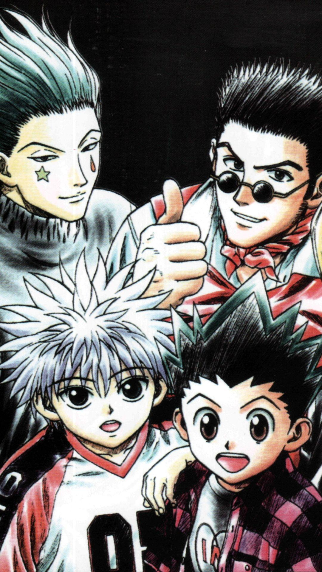 Hunter X Hunter Iphone Wallpapers Wallpaper Cave