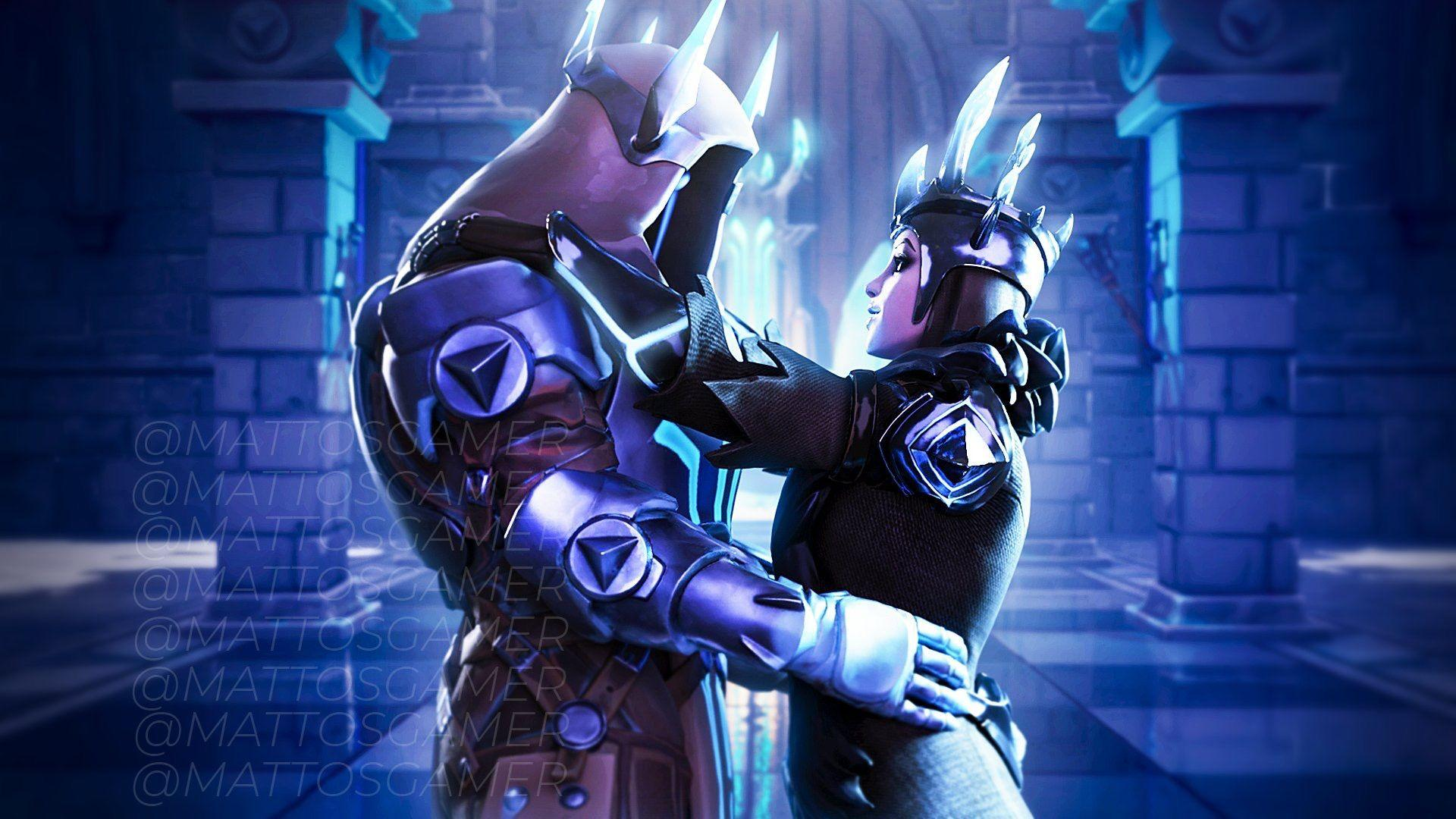 Fortnite Couples Wallpapers Wallpaper Cave