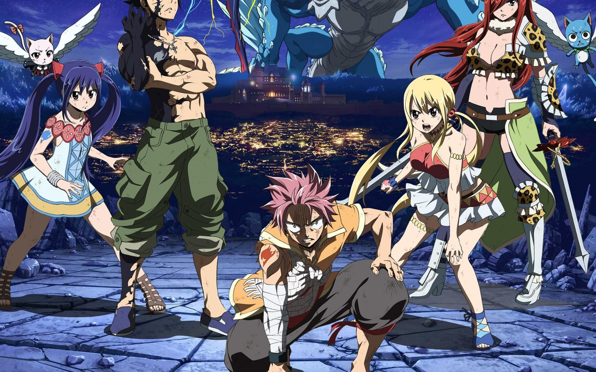 Anime Hd Fairy Tail Wallpapers Wallpaper Cave