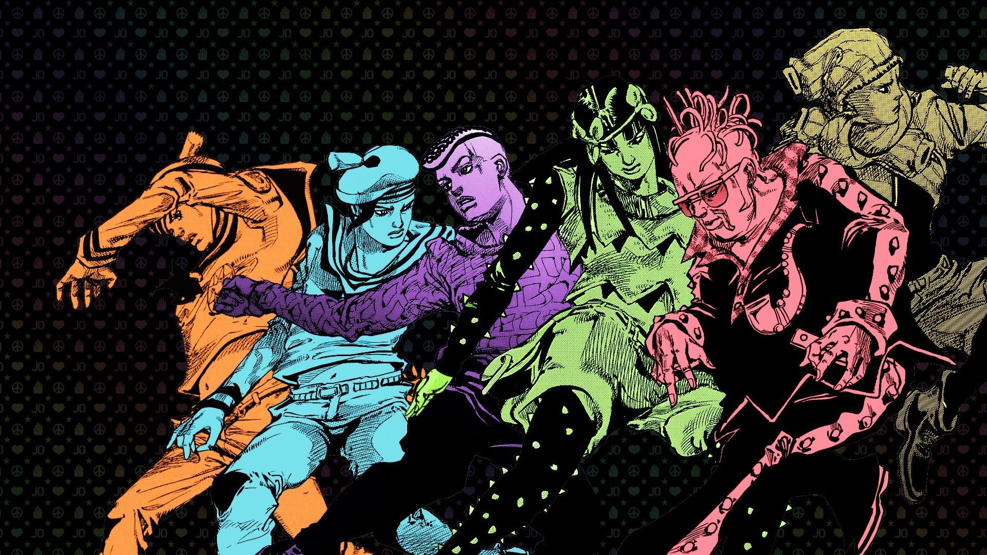 Jojo Bizarre Adventures Desktop Wallpapers Wallpaper Cave