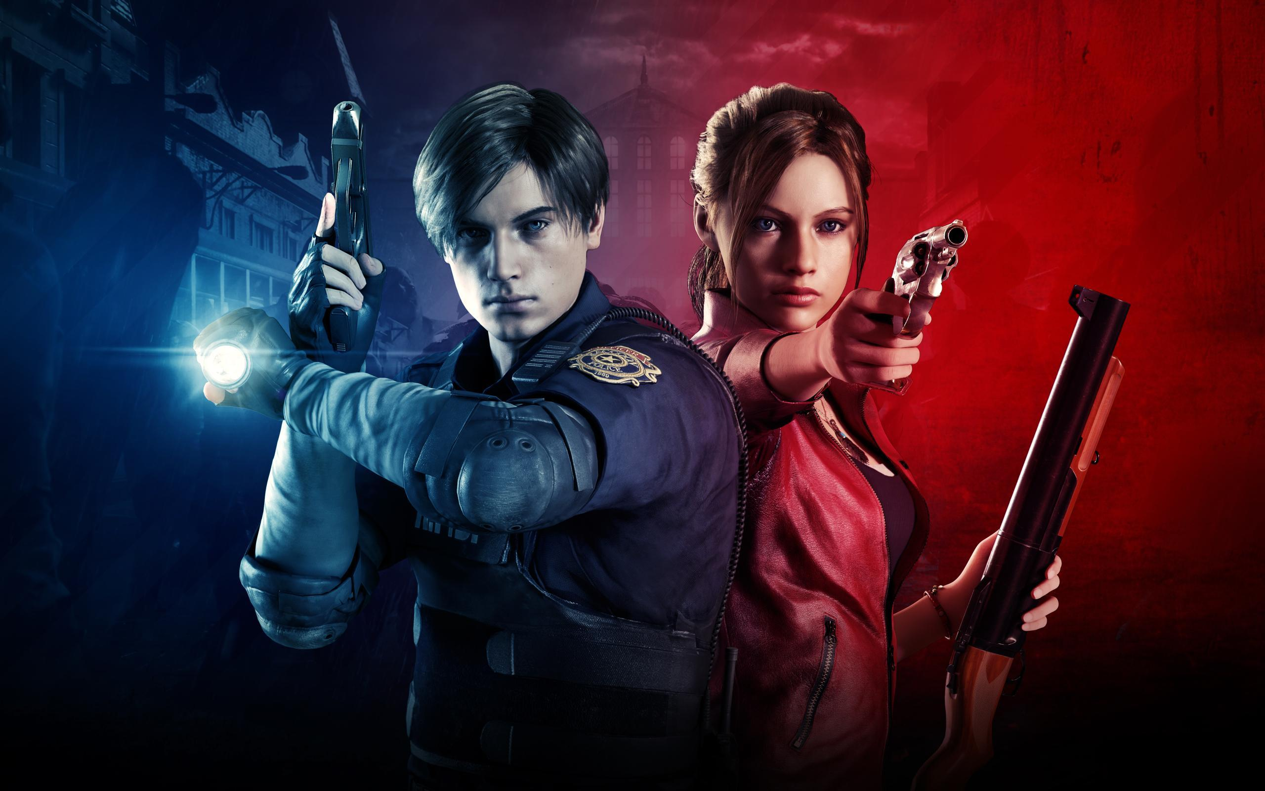 Leon Kennedy And Claire Redfield Wallpapers - Wallpaper Cave