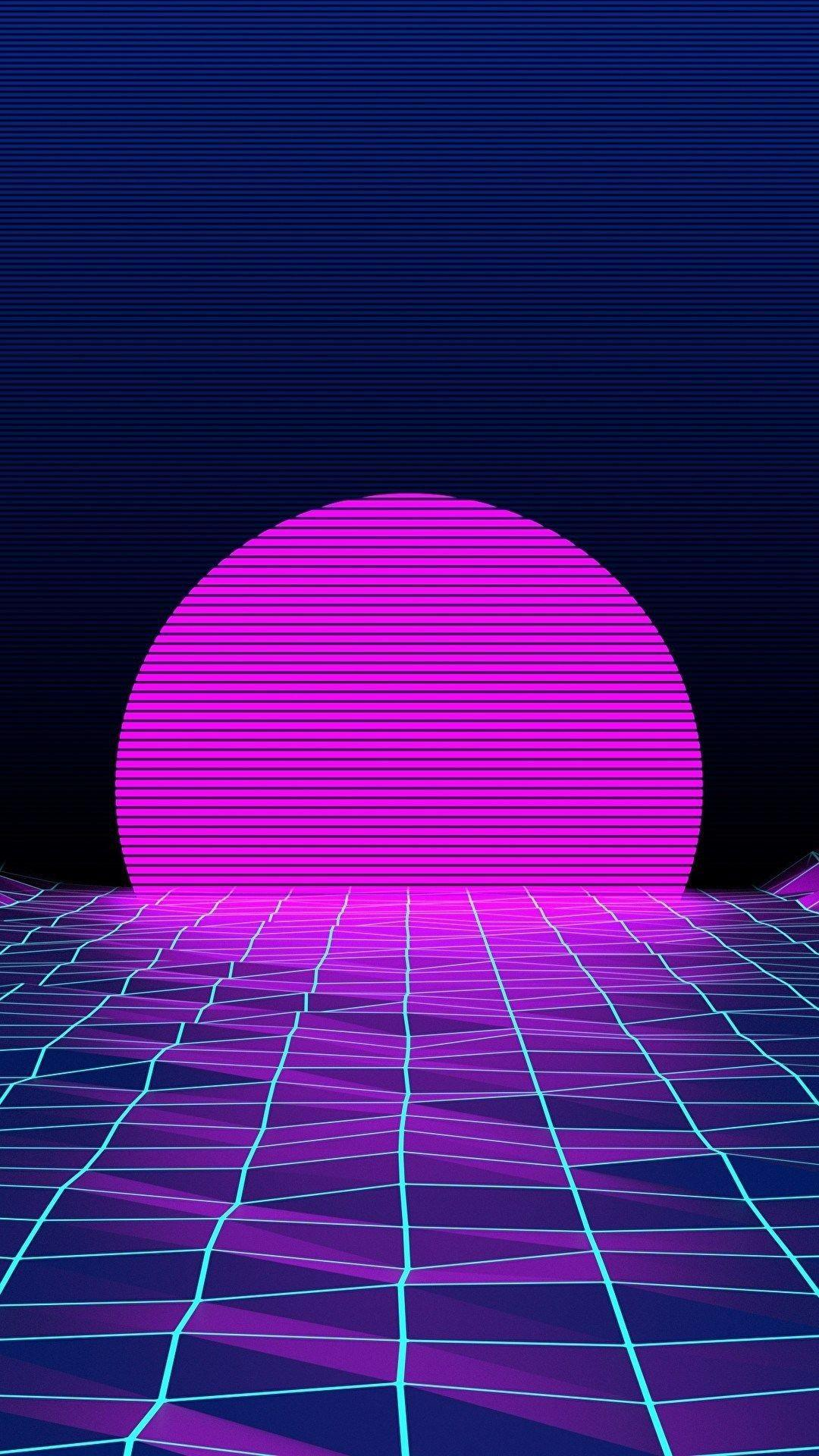 Vaporwave Neon iPhone Wallpapers