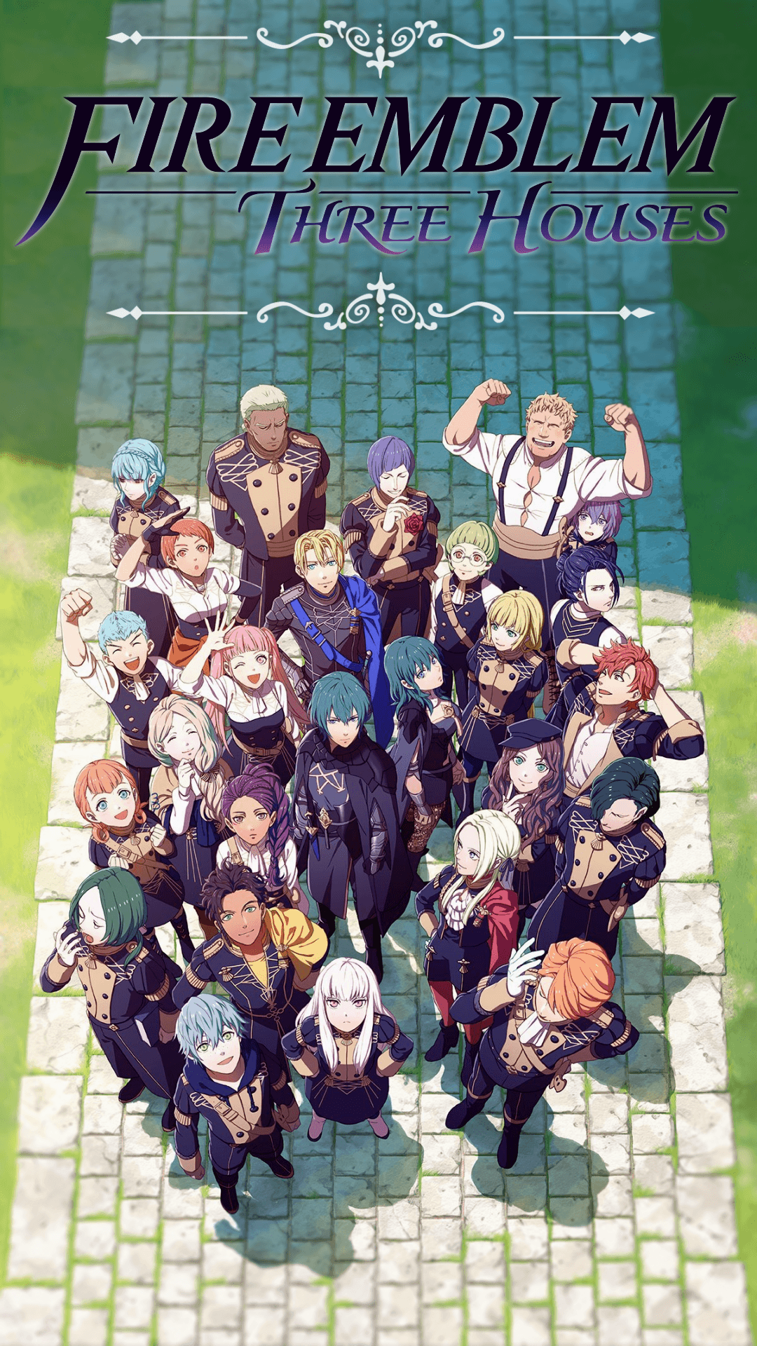Fire Emblem Three Houses Mobile Wallpapers Wallpaper Cave