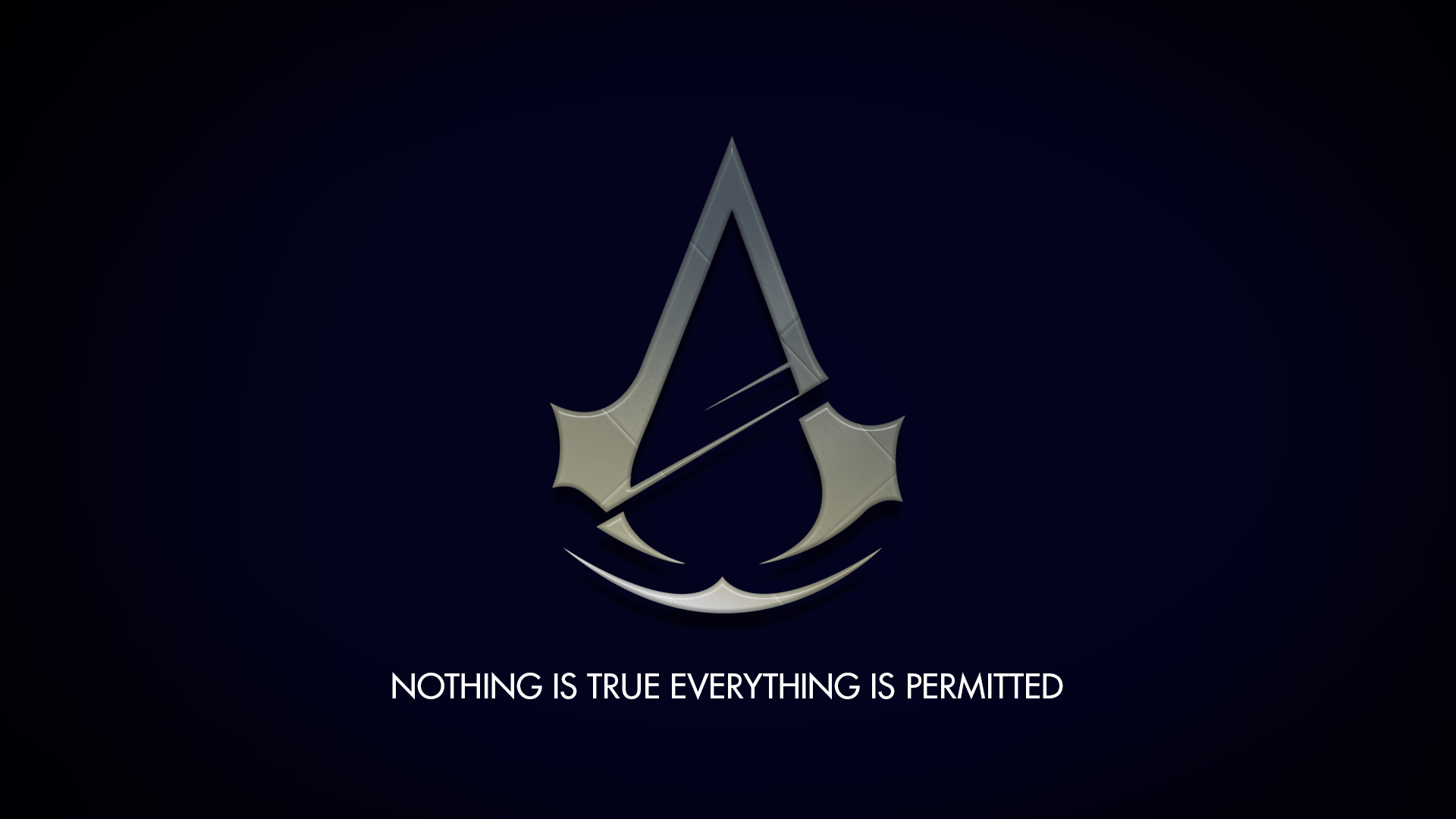 Assassins Creed Symbol Computer Nothing Is True Everything Is