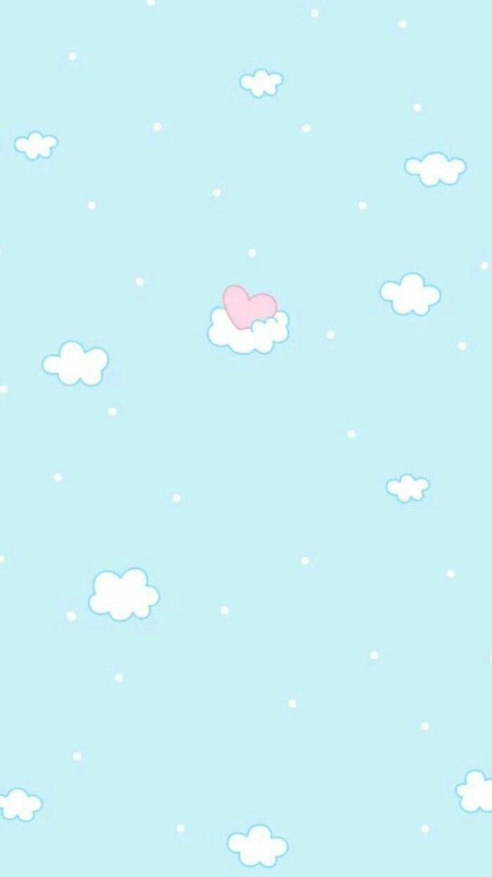 Aesthetic Pastel Blue Wallpapers Wallpaper Cave