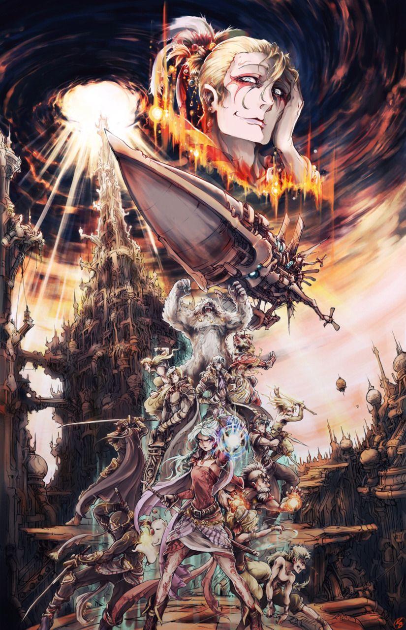 Final Fantasy Vi Wallpaper