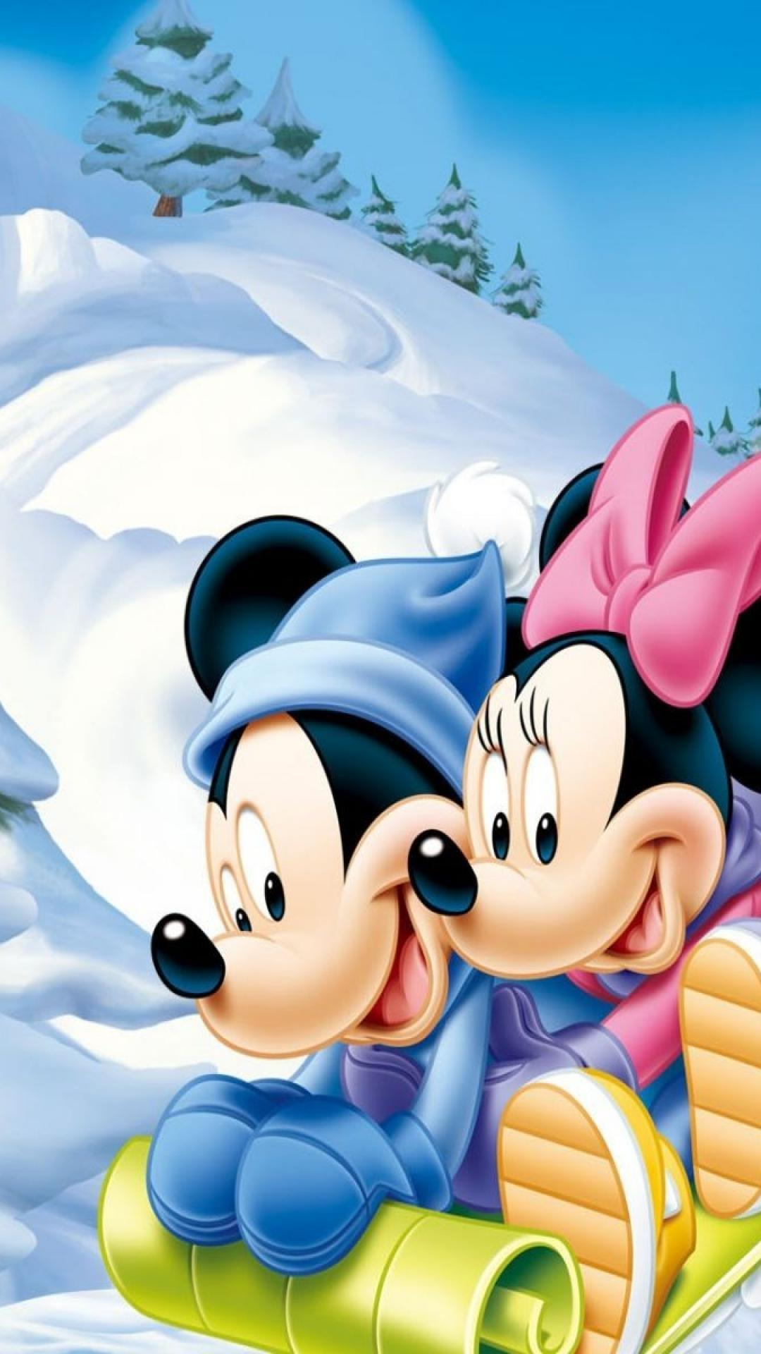 Mickey And Minnie Mouse Phone Wallpapers Wallpaper Cave