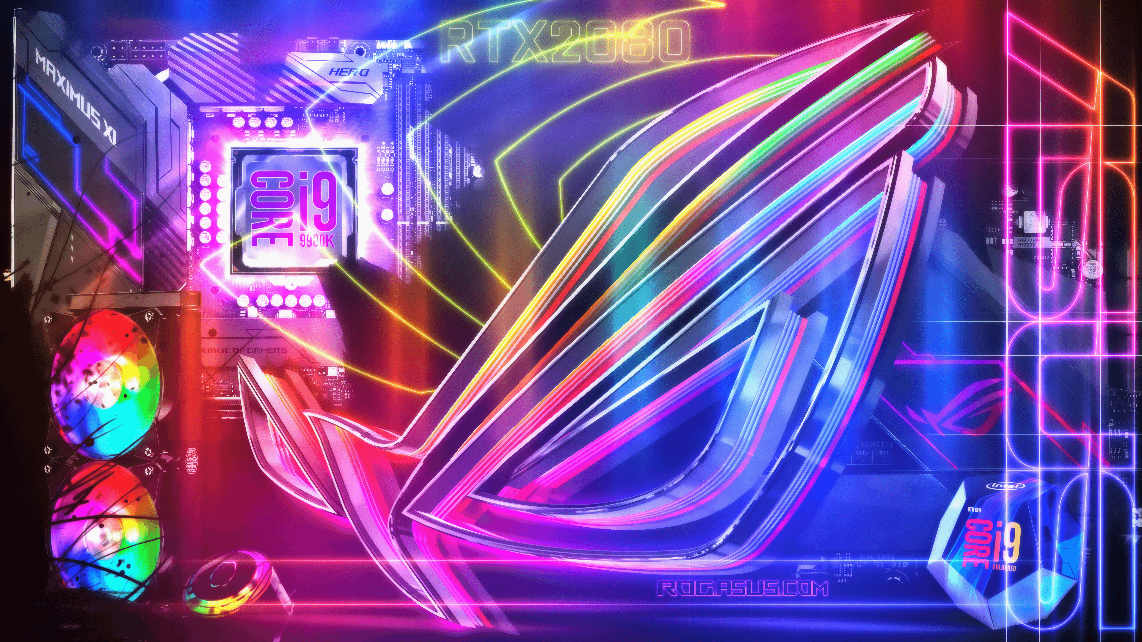 Please contact us if you want to publish a msi 4k wallpaper on our site. ROG RGB Spectrum Wallpapers - Wallpaper Cave