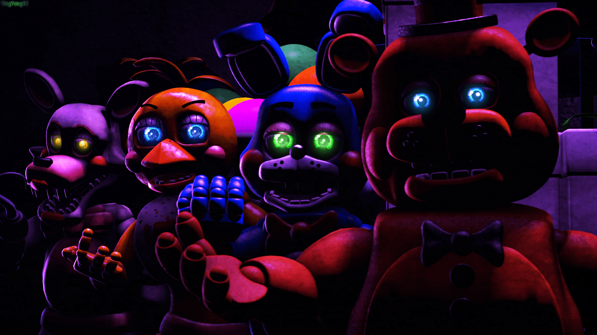 Five Nights At Freddy's 2 Wallpapers   Wallpaper Cave