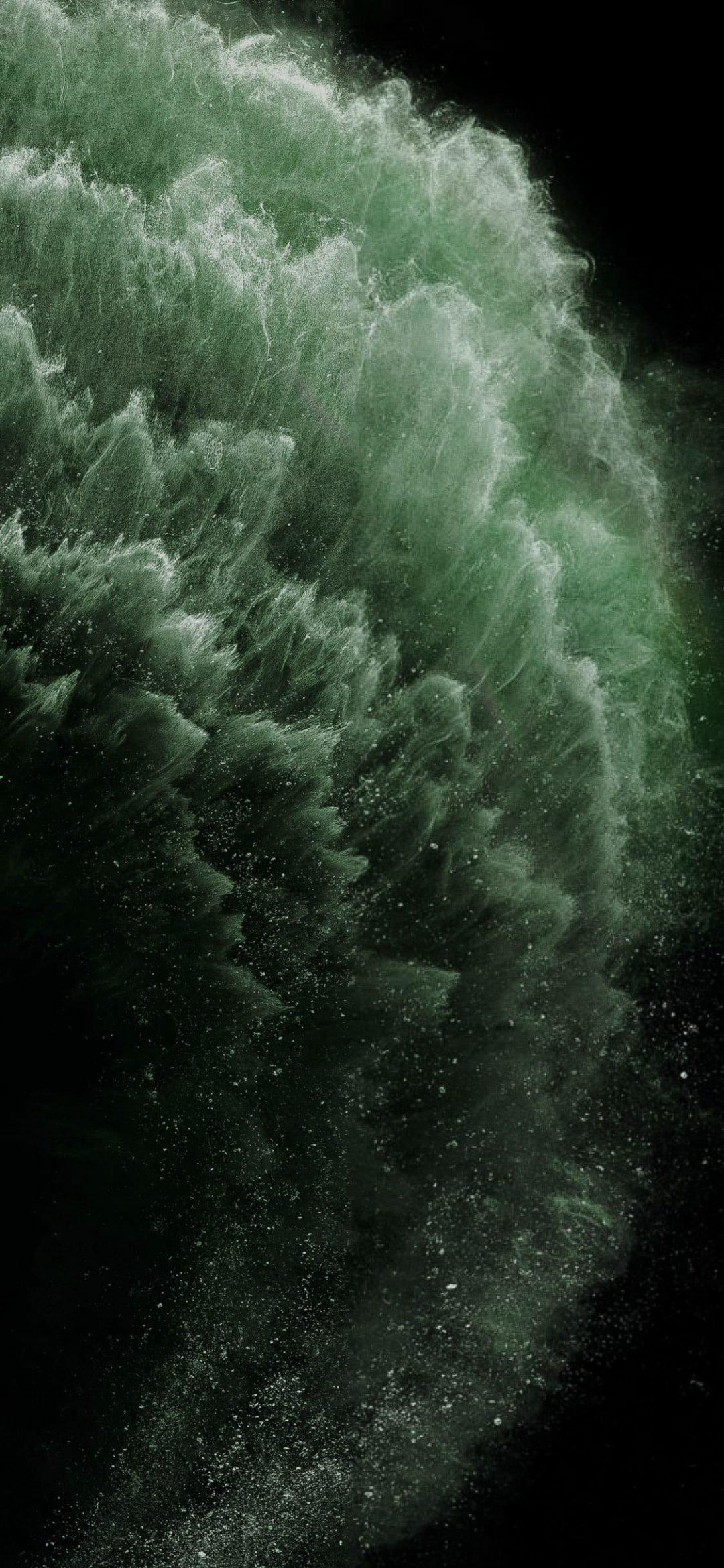 Midnight Green Iphone 11 Pro Wallpapers Wallpaper Cave