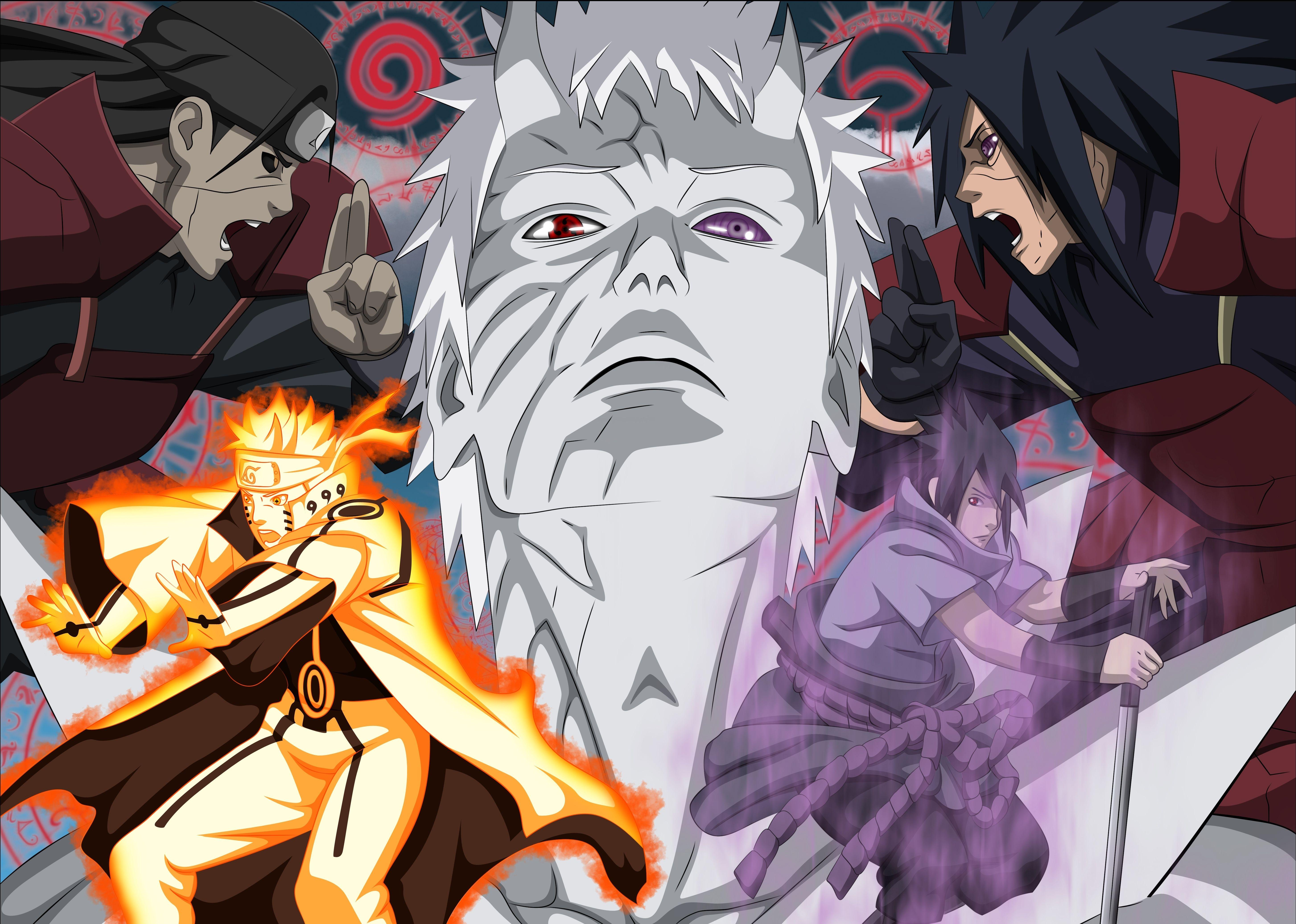 Naruto Desktop 4k Ultra Wallpapers - Wallpaper Cave