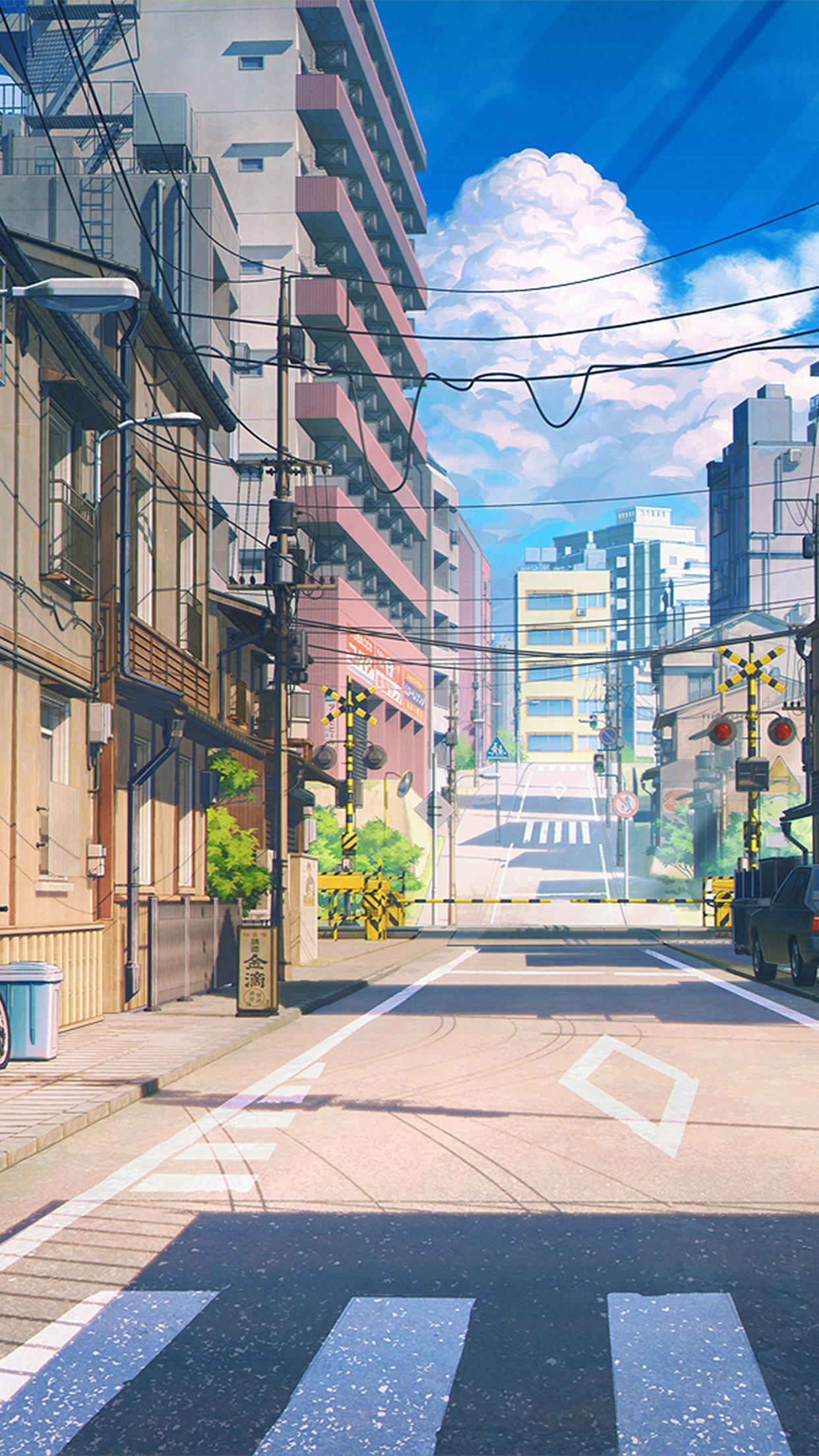 Anime Stadt