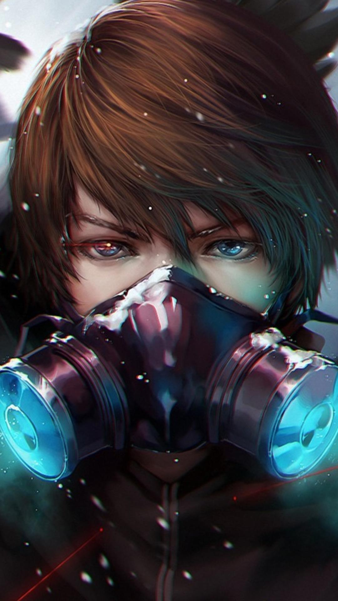 Anime Boy Mask Wallpapers - Wallpaper Cave