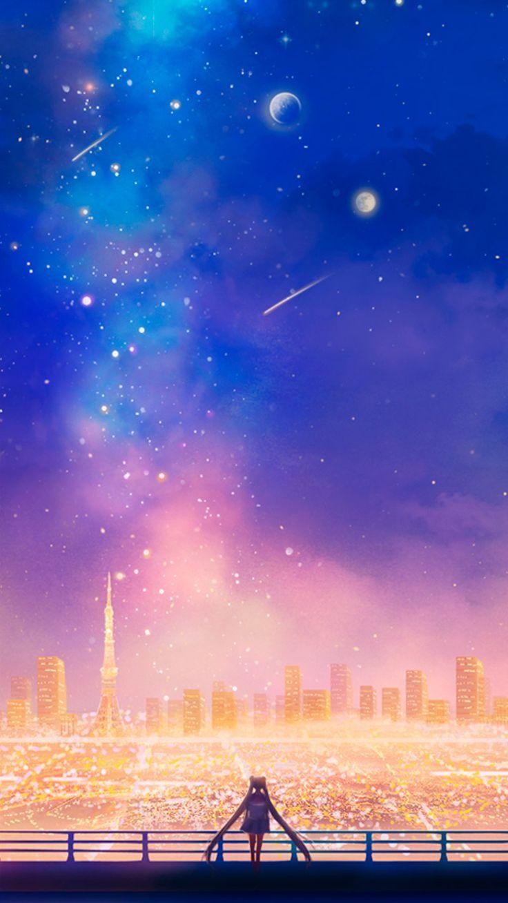Sailor Moon City Phone Wallpapers   Wallpaper Cave