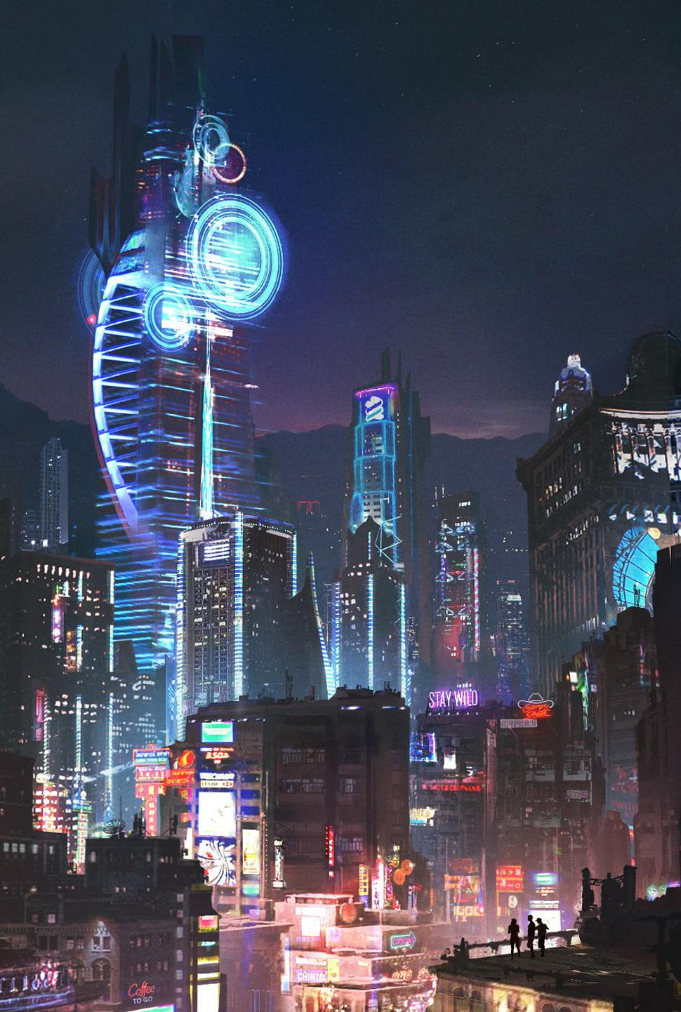 Cyberpunk City Android Wallpapers - Wallpaper Cave