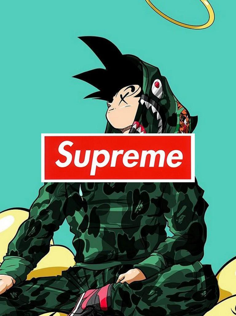 Bape Supreme Anime Wallpapers - Wallpaper Cave