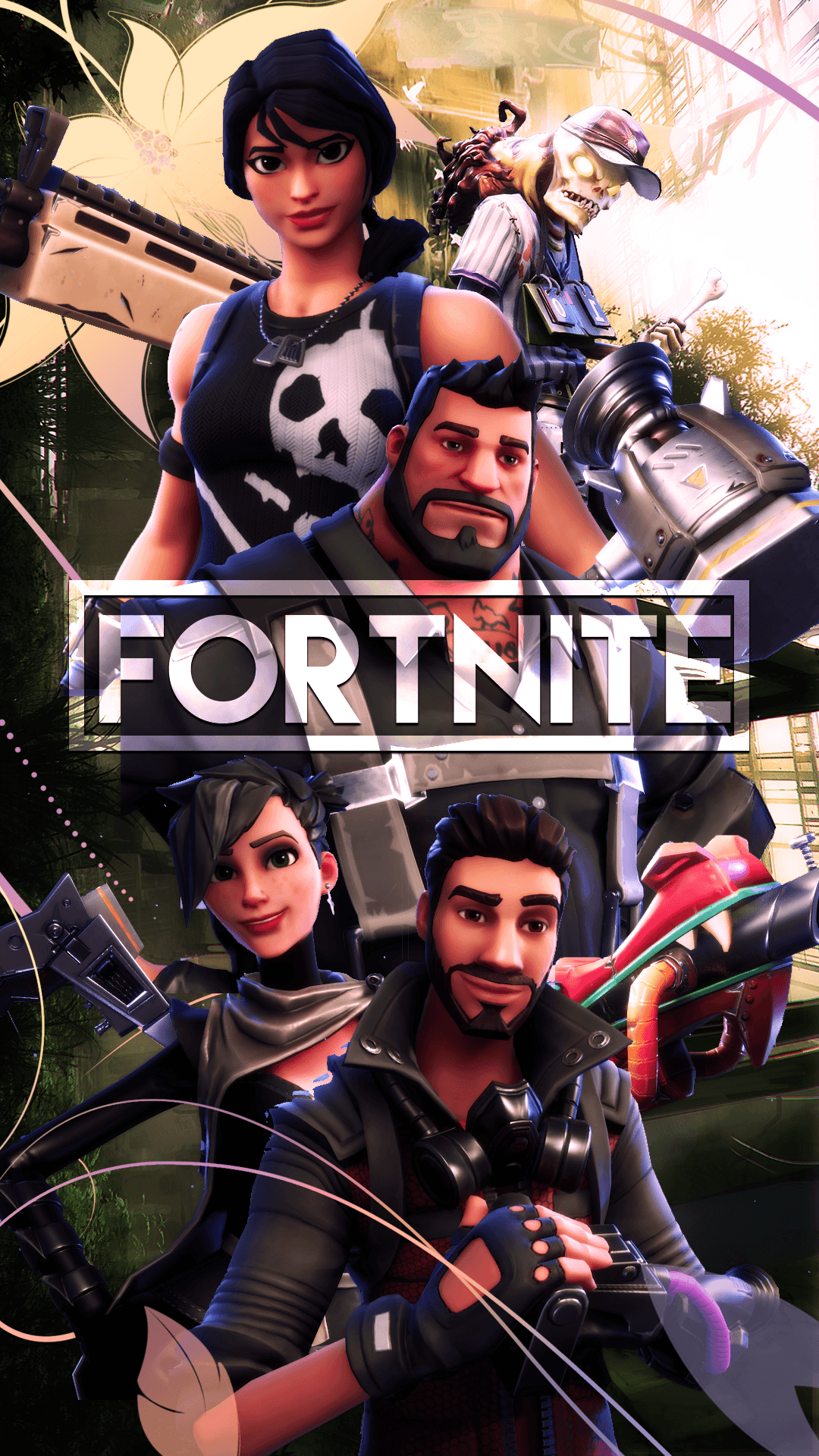 Fortnite Season 8 Wallpapers Iphone Background, Top