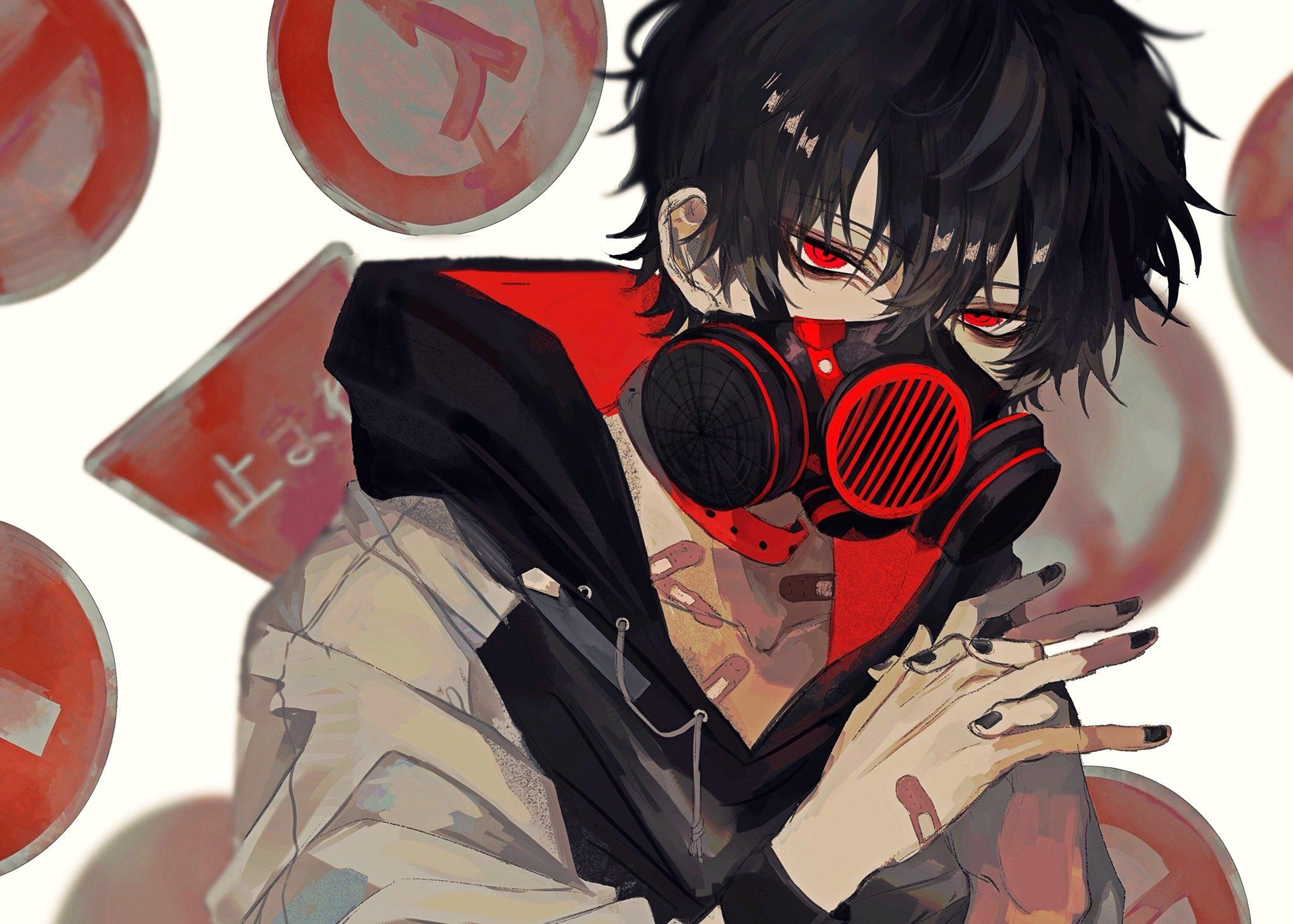Cool Anime Boys With Black Hair And Eyes Wallpapers Wallpaper Cave