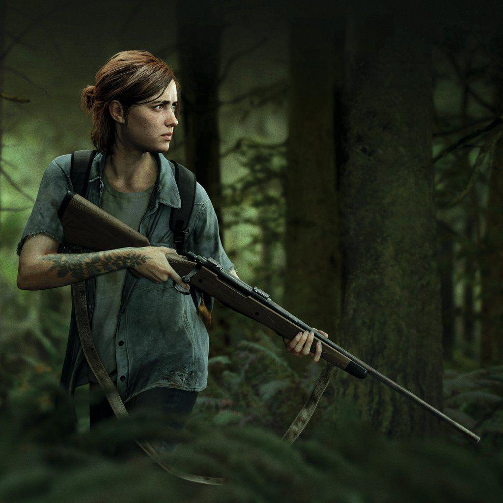 The Last Of Us Part Ii Video Game Ellie Wallpapers Wallpaper Cave