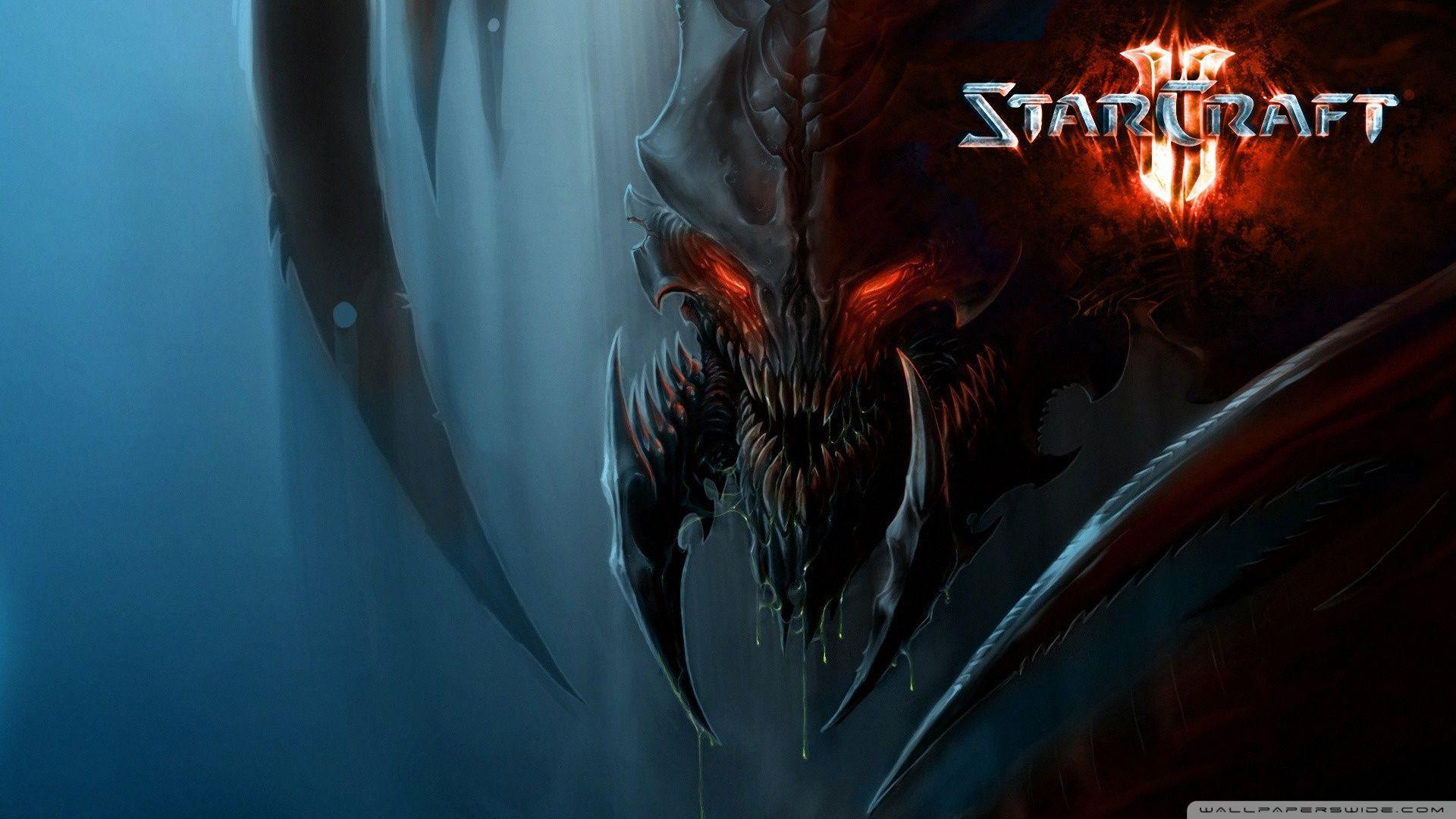 Starcraft 2 Zerg Wallpapers HD - Wallpaper Cave