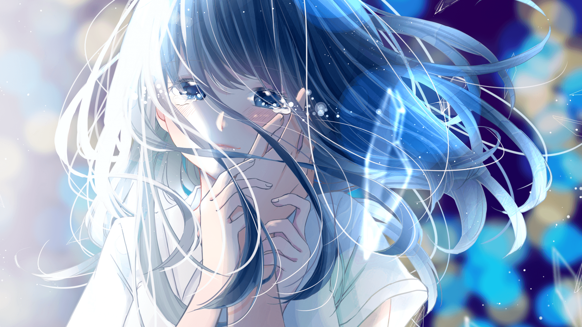 Cute Crying Anime Wallpapers - Wallpaper Cave