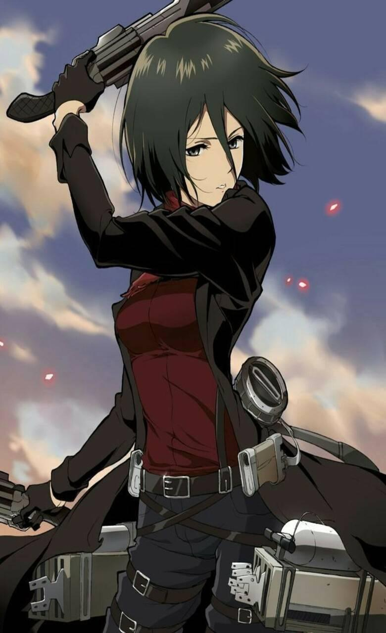 Mikasa Iphone Wallpapers Wallpaper Cave