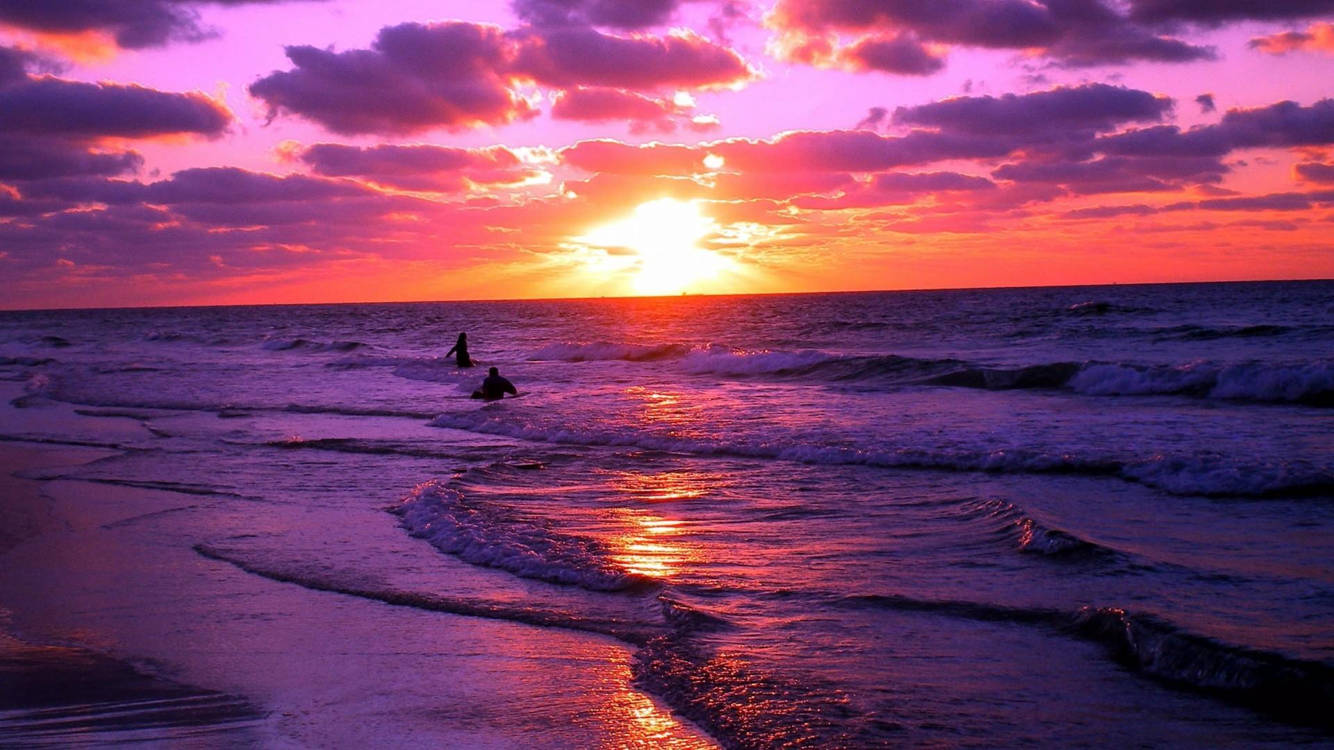 картинка закат океан жизни нормальной нет