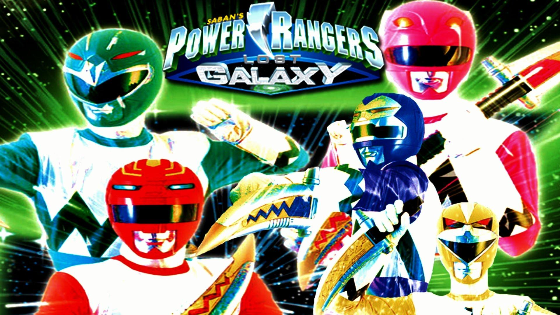 Power Rangers Lost Galaxy Wallpapers Wallpaper Cave