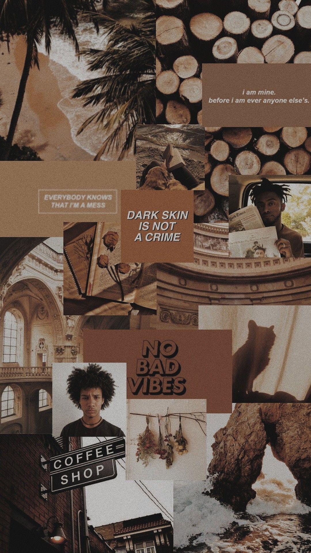 Aesthetic Brown Hd Wallpapers Wallpaper Cave