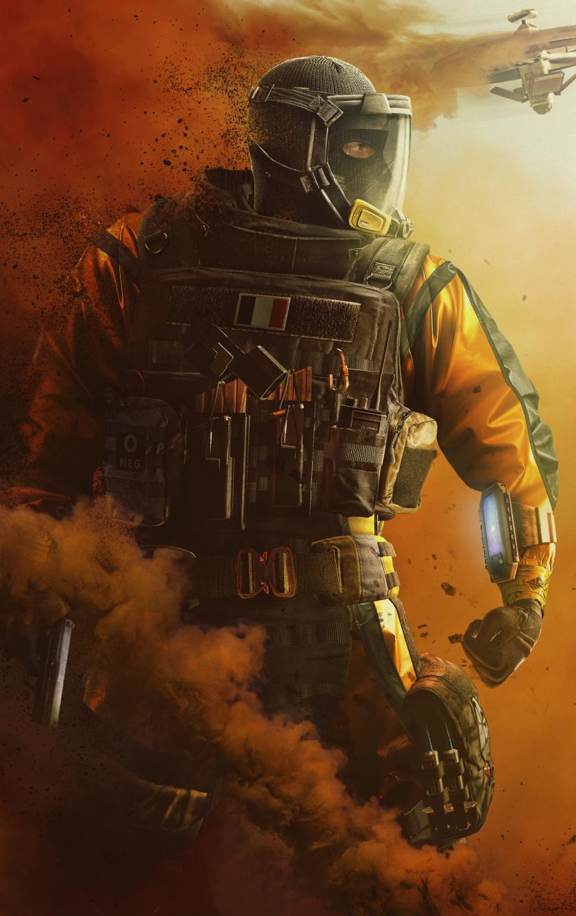 Rainbow 6 Siege Iphone Wallpapers Wallpaper Cave