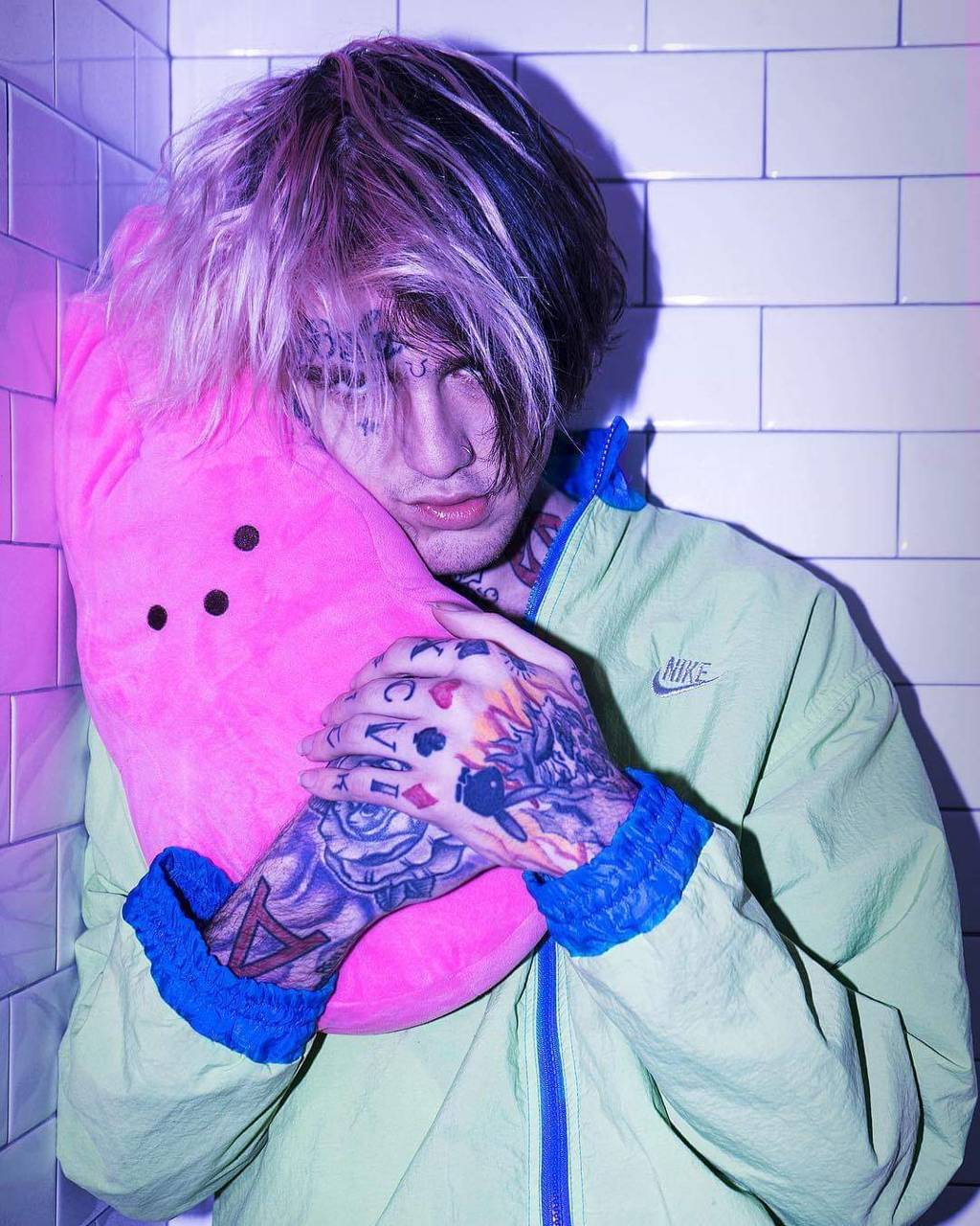 Lil Peep Pink Wallpapers - Wallpaper Cave