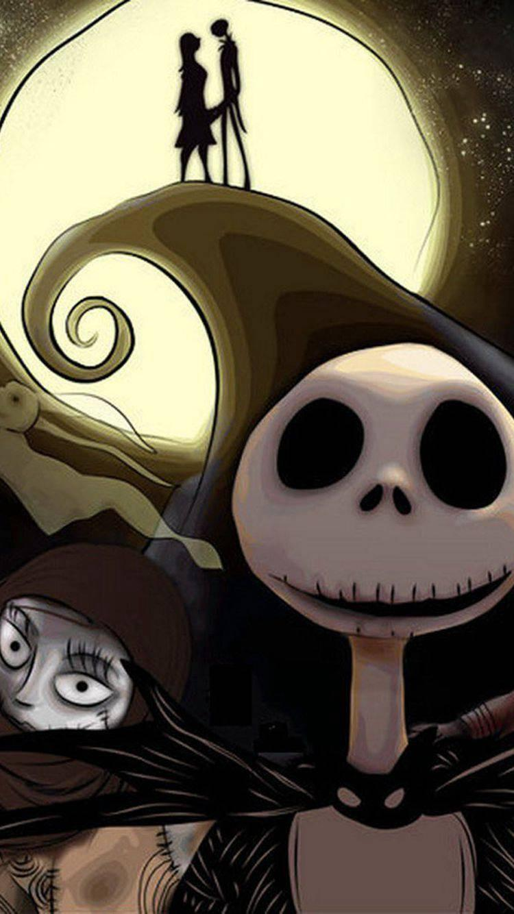 Nightmare Before Christmas Android Wallpapers Wallpaper Cave