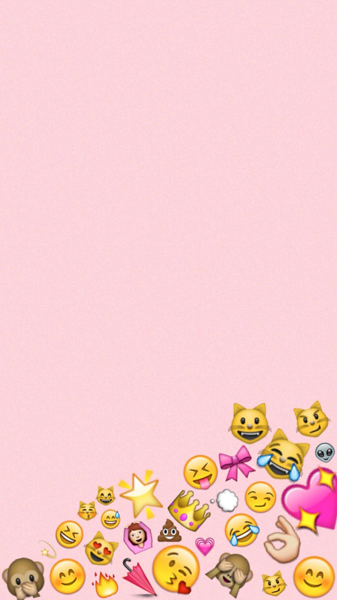 Iphone Tumblr Emoji Wallpapers Wallpaper Cave